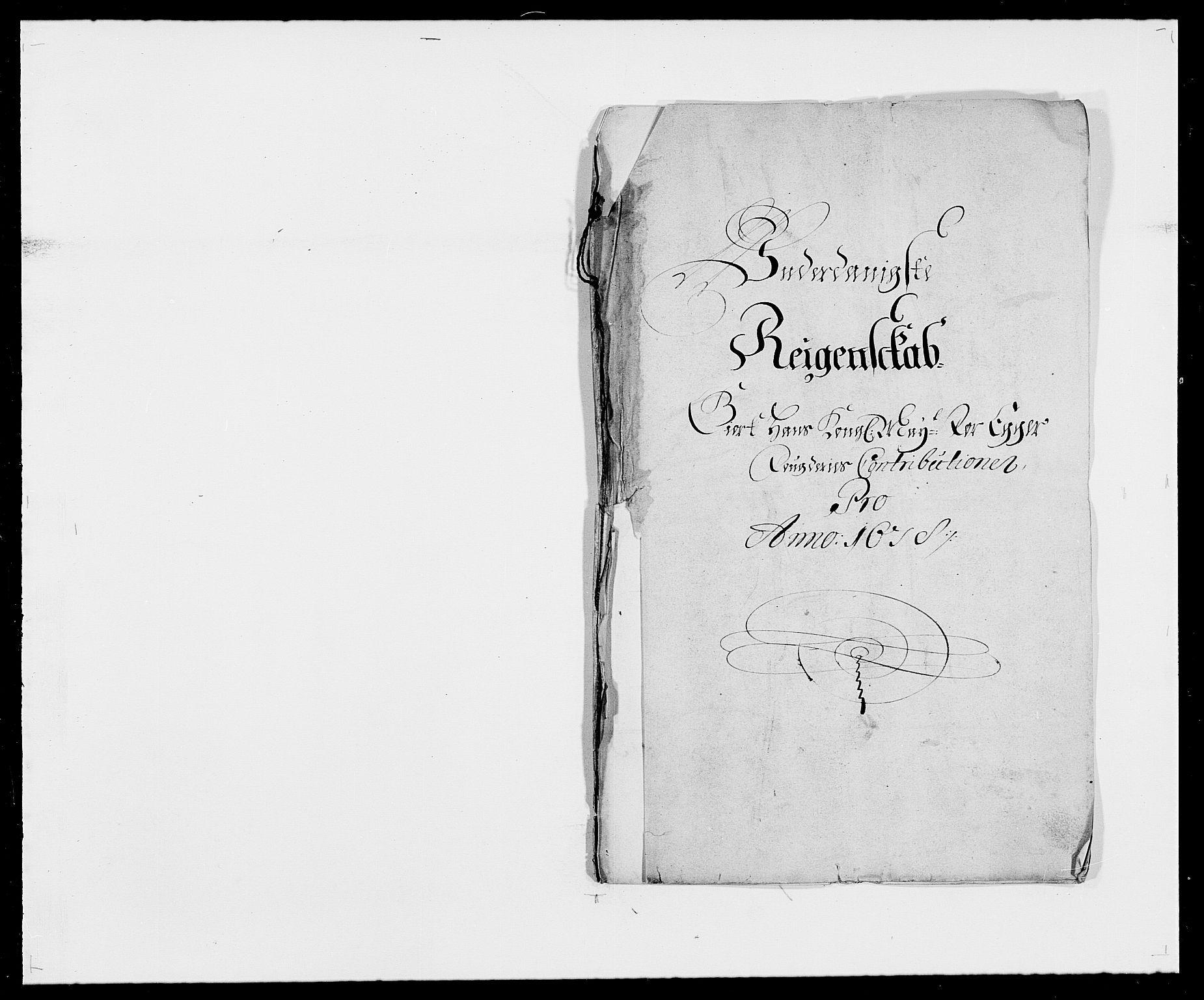 RA, Rentekammeret inntil 1814, Reviderte regnskaper, Fogderegnskap, R26/L1683: Fogderegnskap Eiker, 1678, s. 1