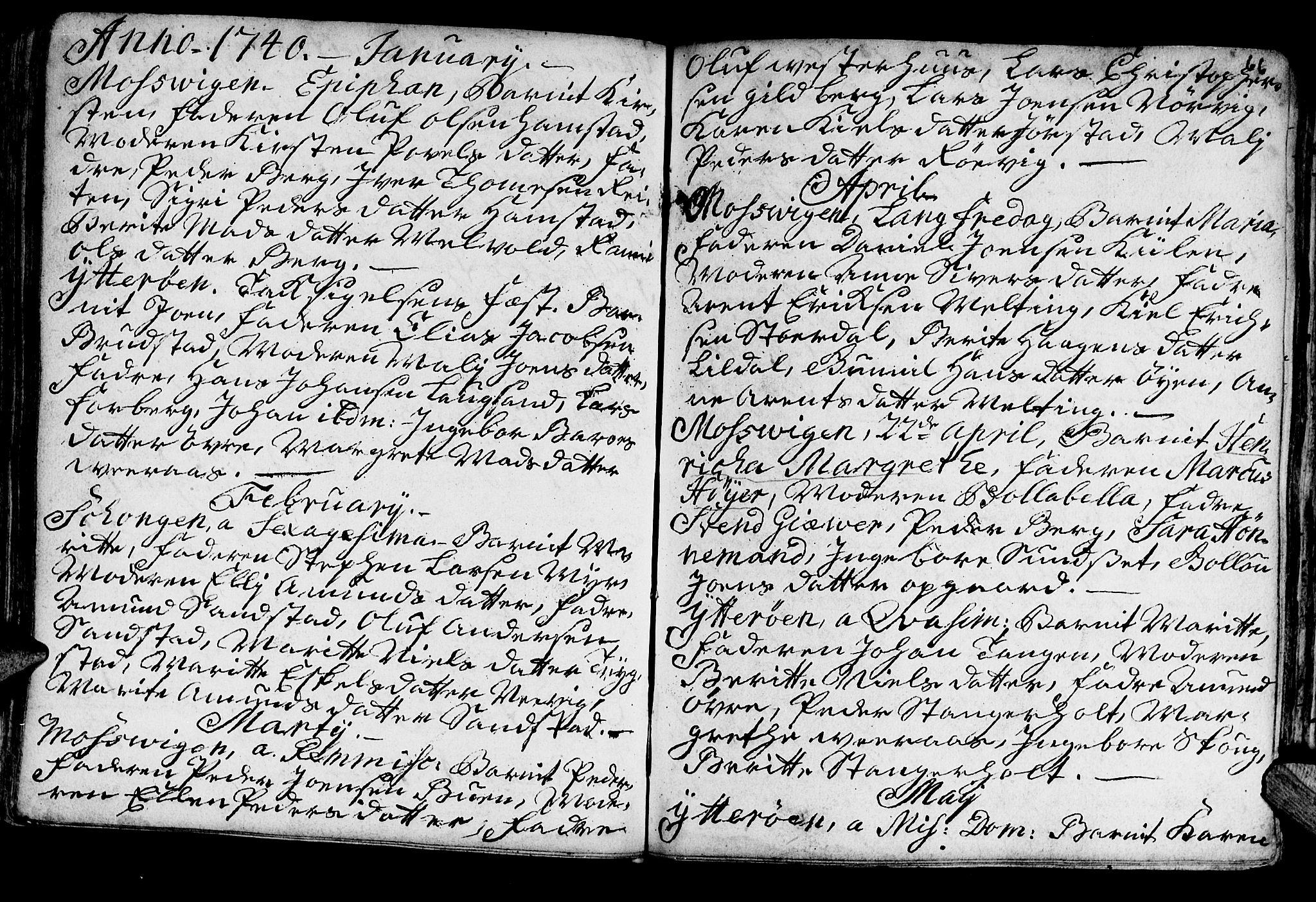 SAT, Ministerialprotokoller, klokkerbøker og fødselsregistre - Nord-Trøndelag, 722/L0215: Ministerialbok nr. 722A02, 1718-1755, s. 66