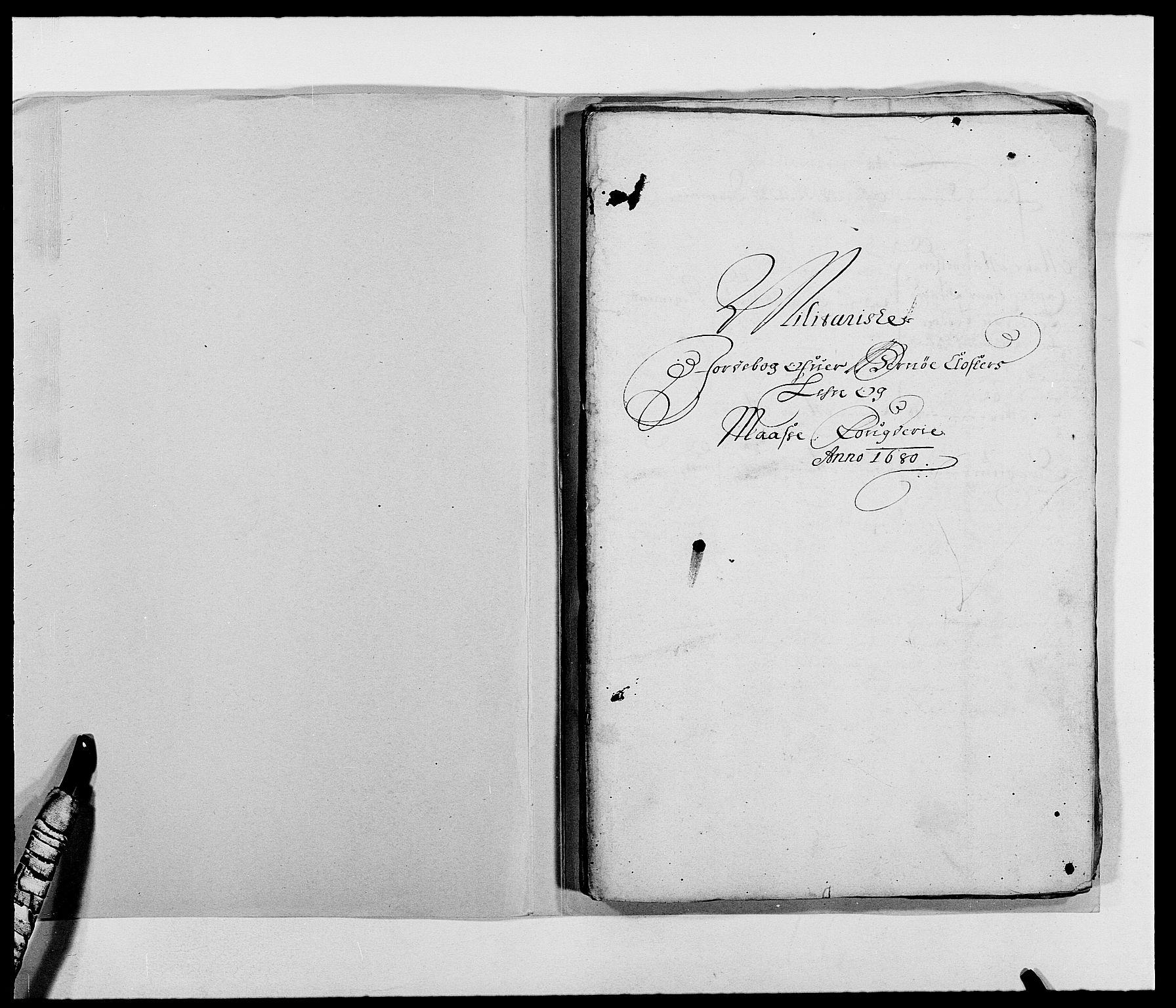 RA, Rentekammeret inntil 1814, Reviderte regnskaper, Fogderegnskap, R02/L0101: Fogderegnskap Moss og Verne kloster, 1680, s. 255