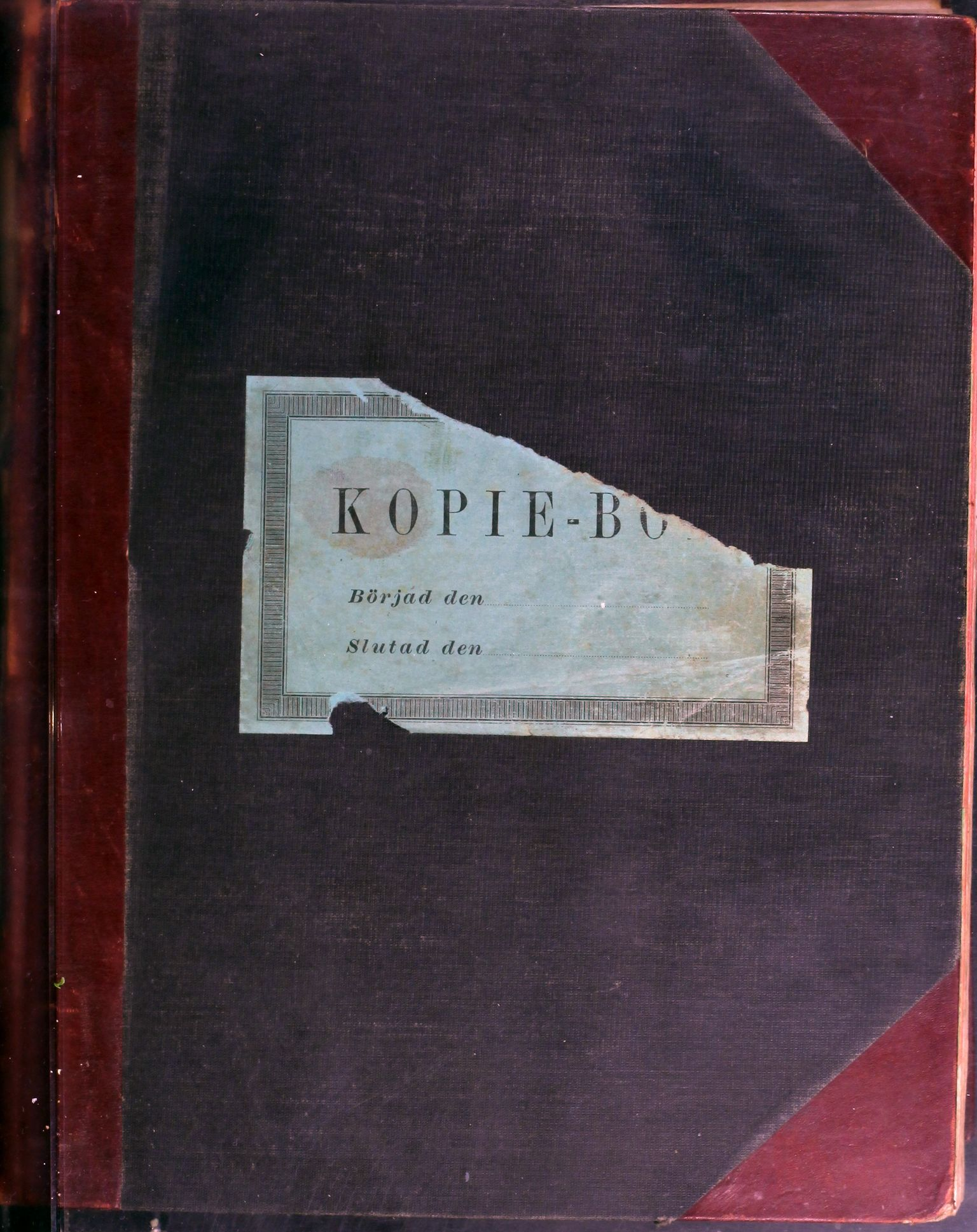 AIN, A/S Sulitjelma Gruber, B/Ba/L0011: Kopibok - Diverse adressater, 1898-1899