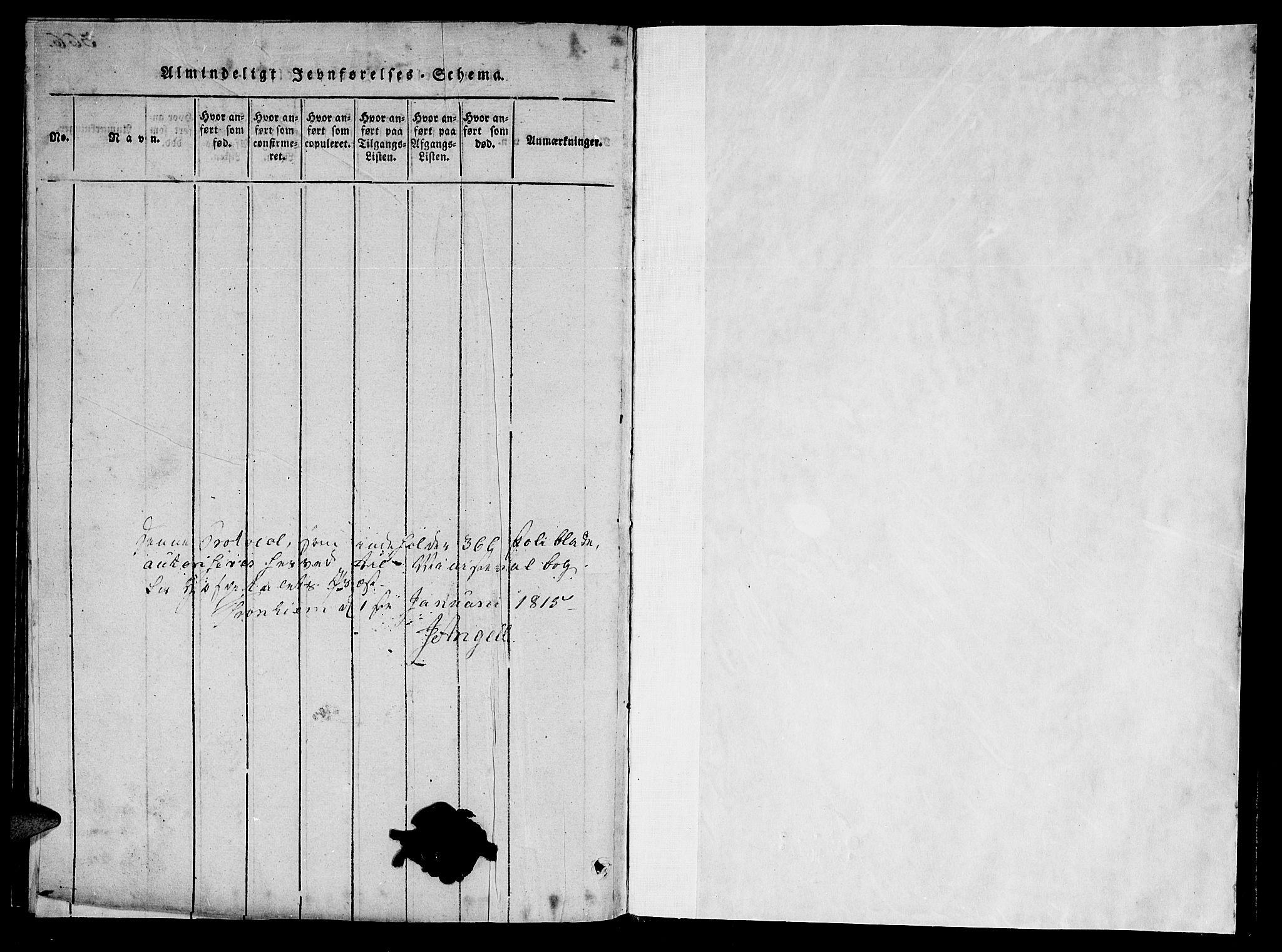 SAT, Ministerialprotokoller, klokkerbøker og fødselsregistre - Sør-Trøndelag, 623/L0467: Ministerialbok nr. 623A01, 1815-1825