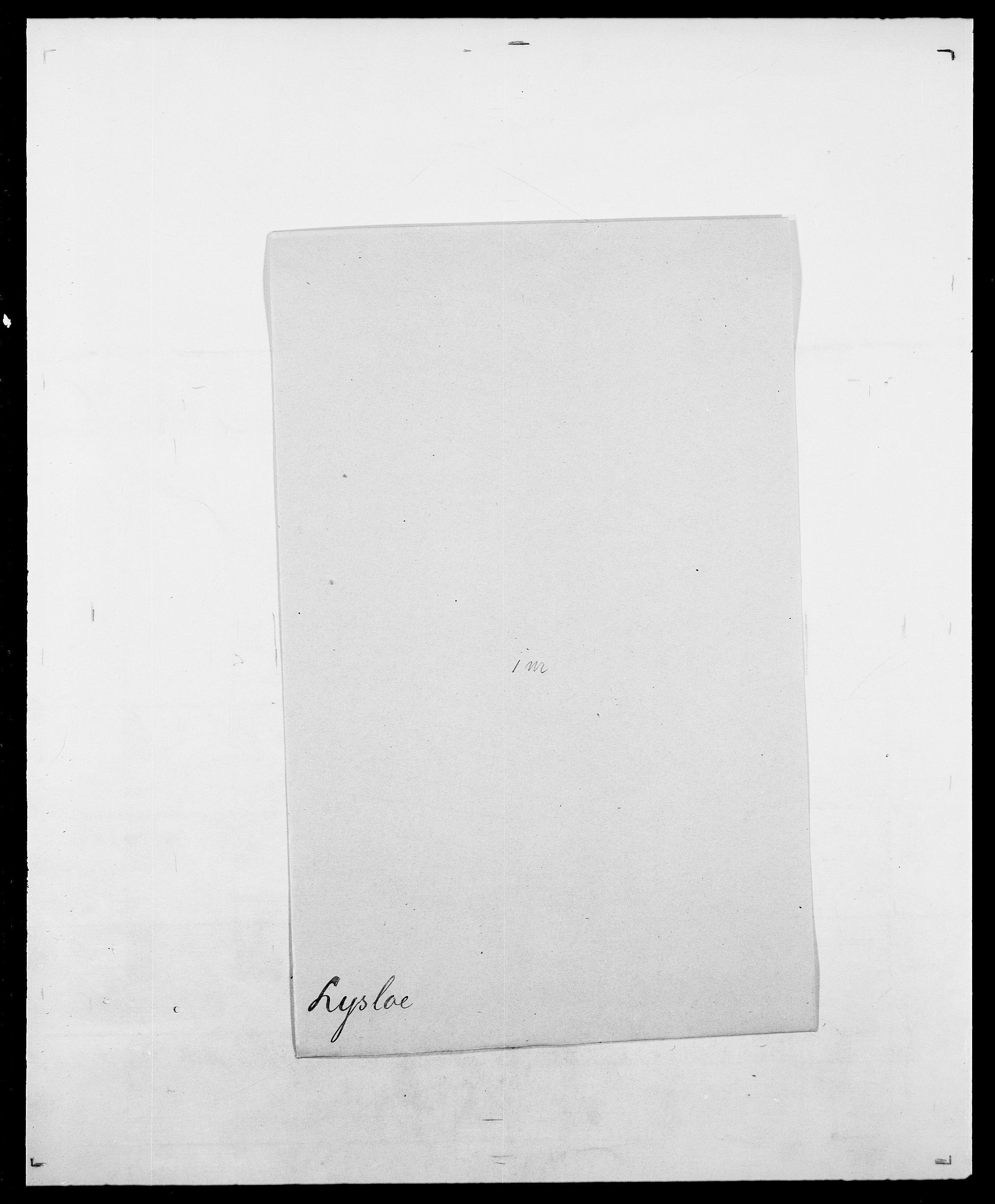SAO, Delgobe, Charles Antoine - samling, D/Da/L0024: Lobech - Lærum, s. 778