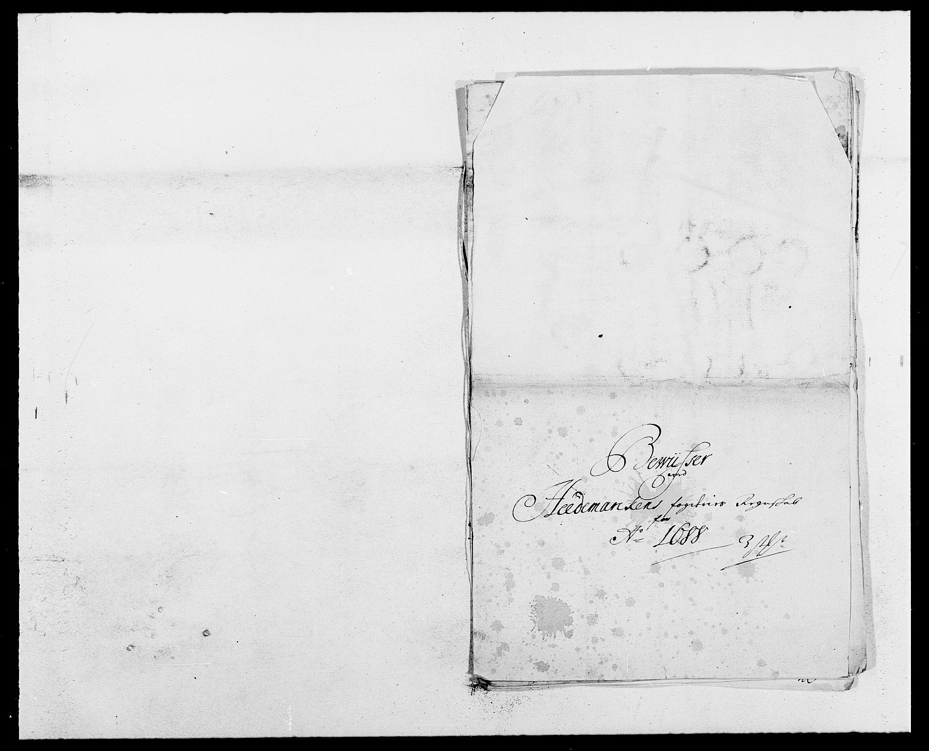 RA, Rentekammeret inntil 1814, Reviderte regnskaper, Fogderegnskap, R16/L1029: Fogderegnskap Hedmark, 1688, s. 353