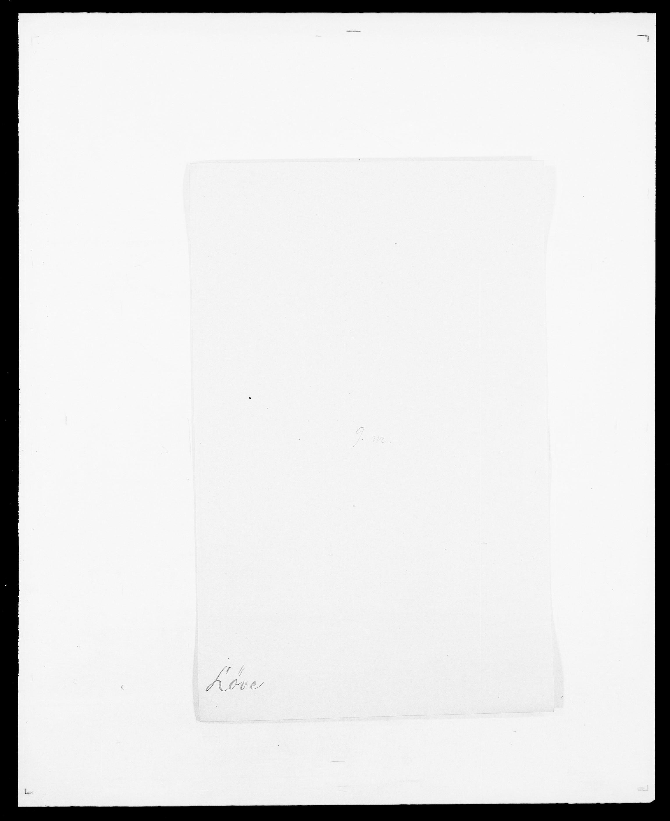 SAO, Delgobe, Charles Antoine - samling, D/Da/L0025: Løberg - Mazar, s. 83