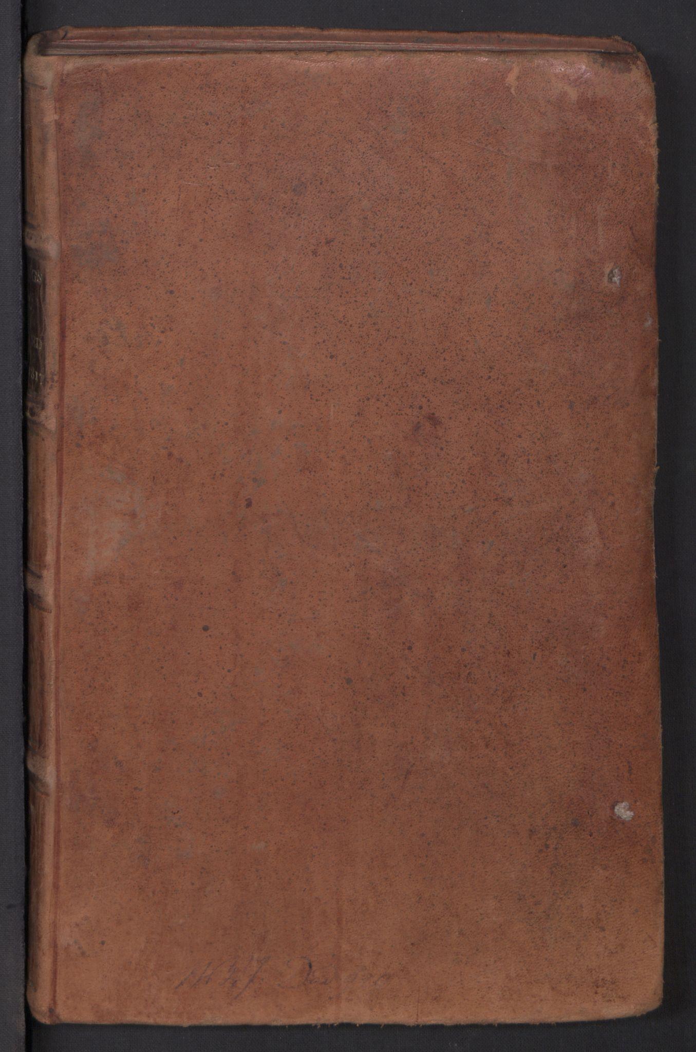 RA, Kommersekollegiet, Brannforsikringskontoret 1767-1814, F/Fa/L0003: Arendal, 1807-1817