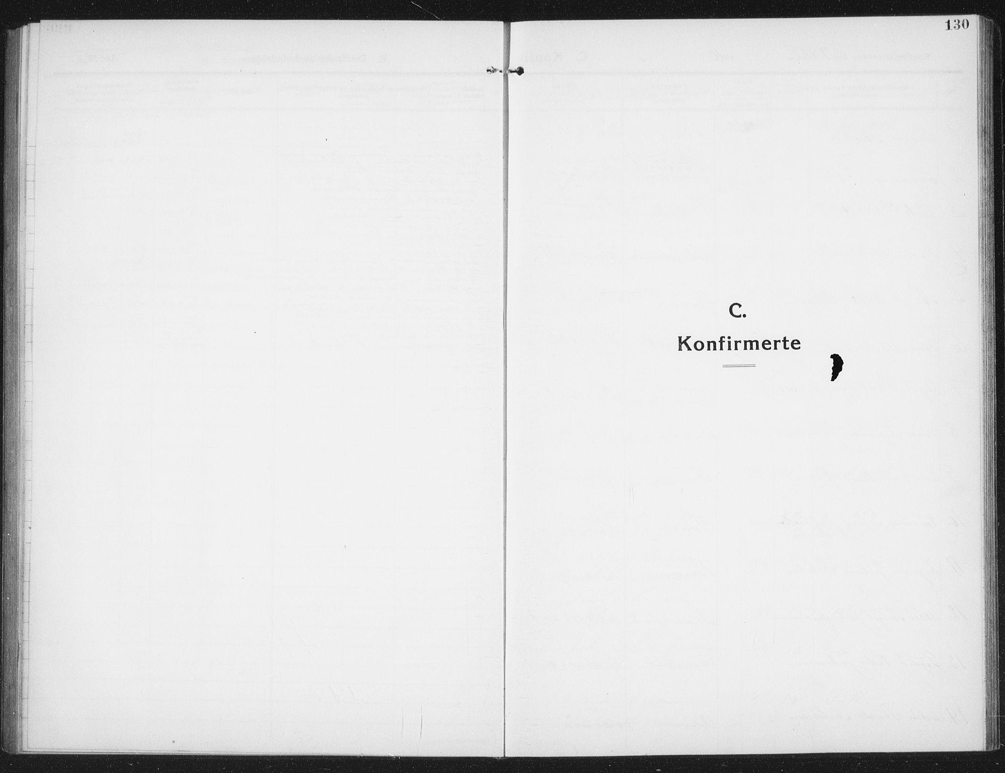 SAT, Ministerialprotokoller, klokkerbøker og fødselsregistre - Nord-Trøndelag, 774/L0630: Klokkerbok nr. 774C01, 1910-1934, s. 130