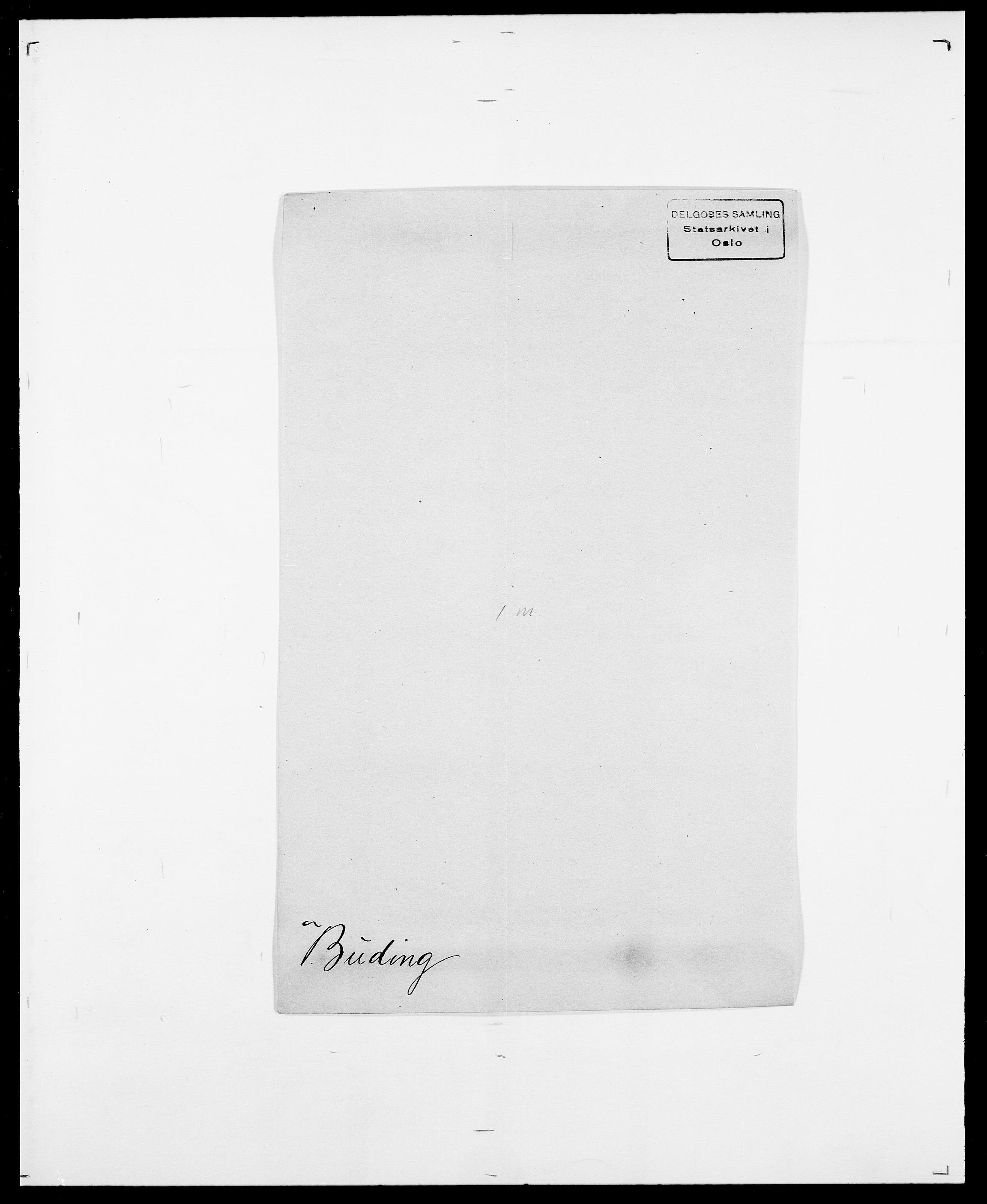 SAO, Delgobe, Charles Antoine - samling, D/Da/L0007: Buaas - Caphengst, s. 141