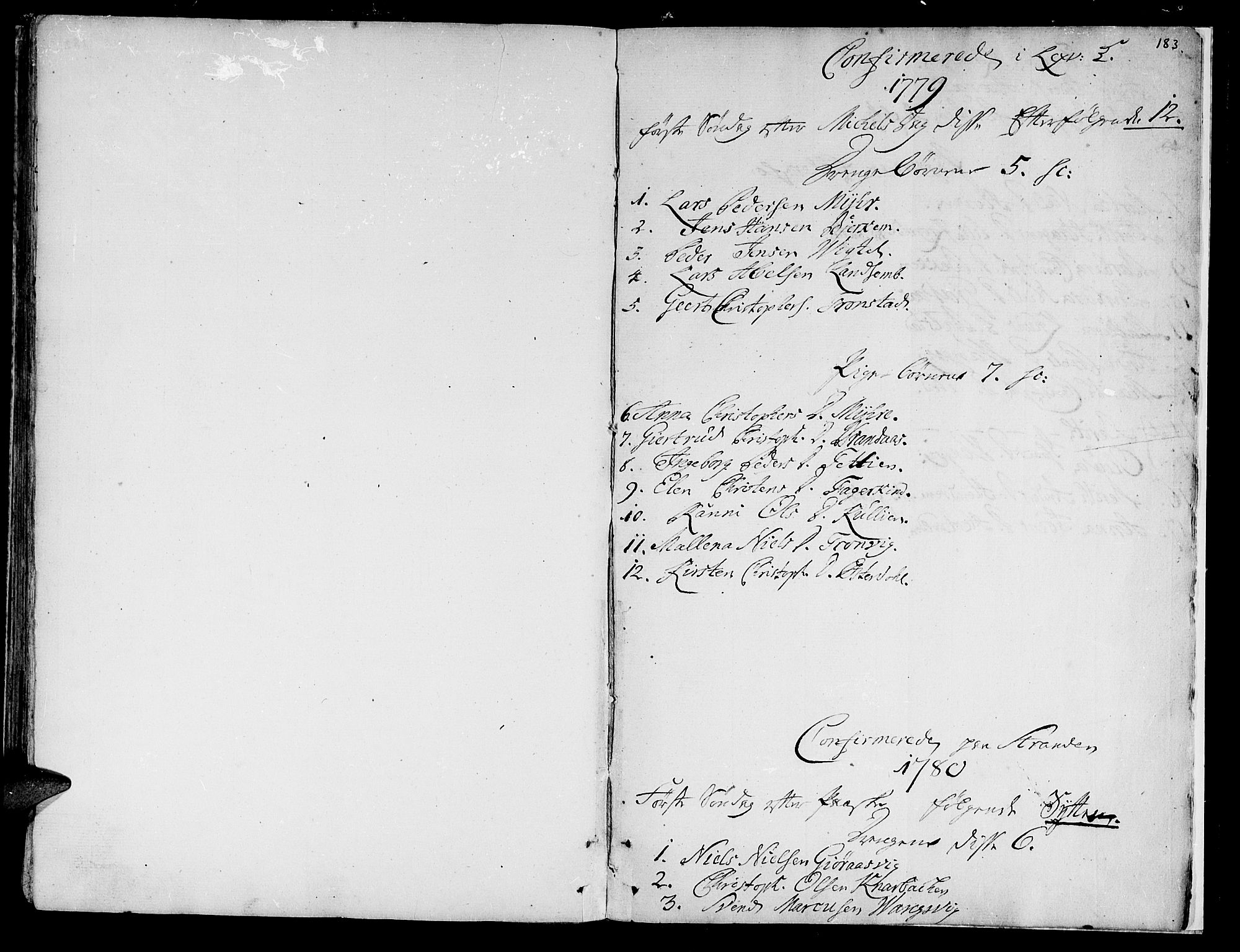 SAT, Ministerialprotokoller, klokkerbøker og fødselsregistre - Nord-Trøndelag, 701/L0003: Ministerialbok nr. 701A03, 1751-1783, s. 183