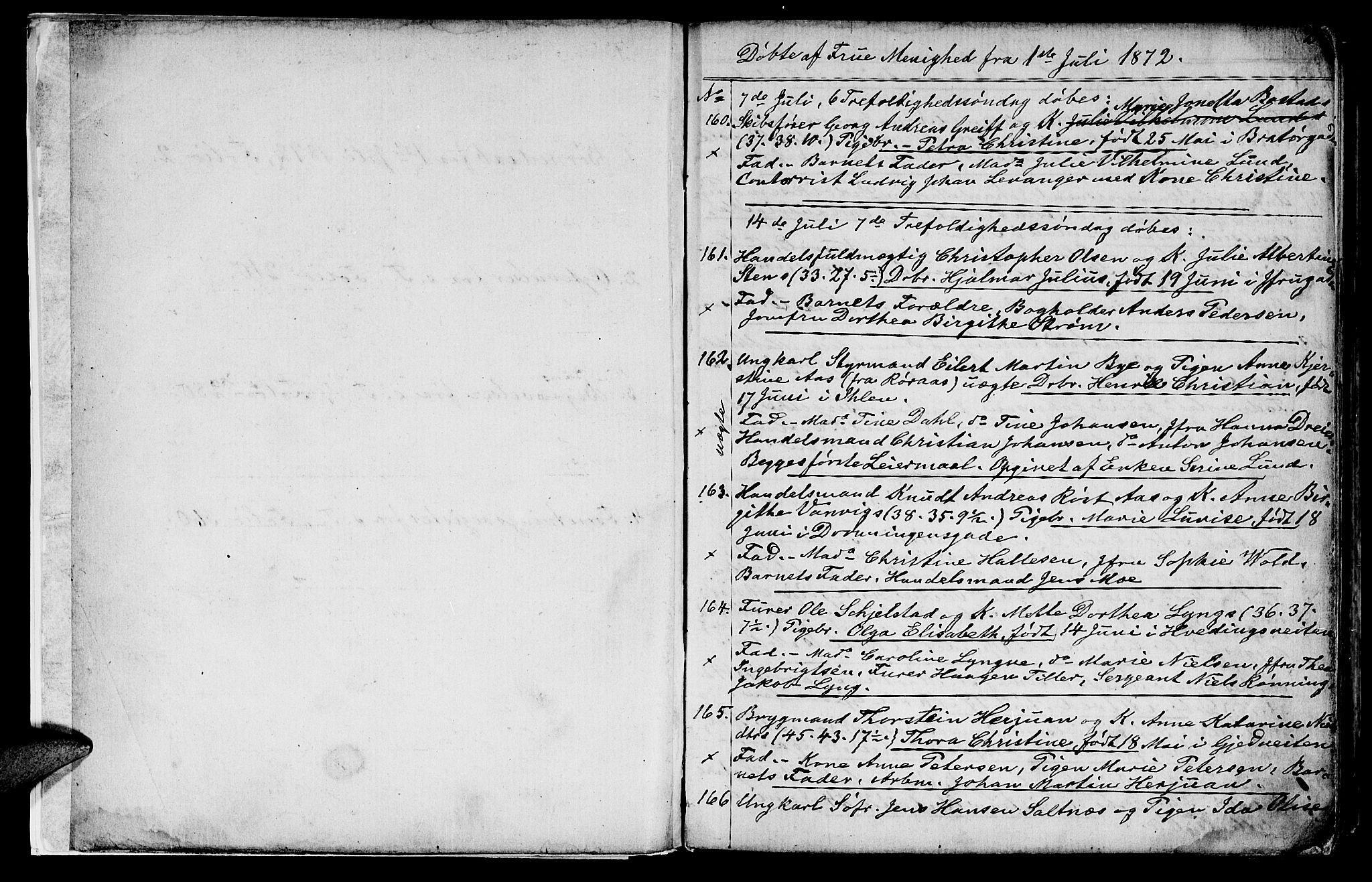 SAT, Ministerialprotokoller, klokkerbøker og fødselsregistre - Sør-Trøndelag, 602/L0142: Klokkerbok nr. 602C10, 1872-1894, s. 2