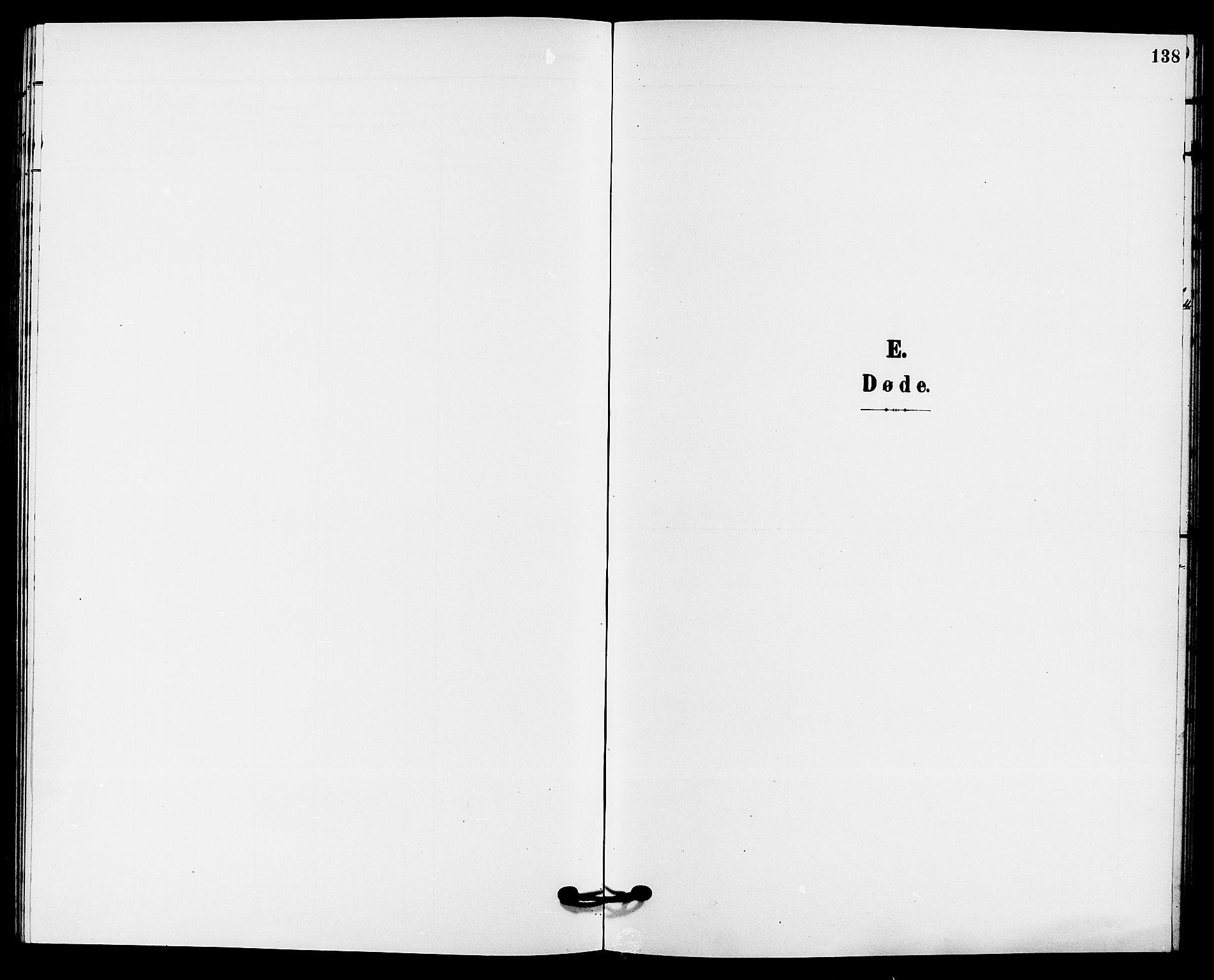 SAKO, Solum kirkebøker, G/Gb/L0004: Klokkerbok nr. II 4, 1898-1905, s. 138