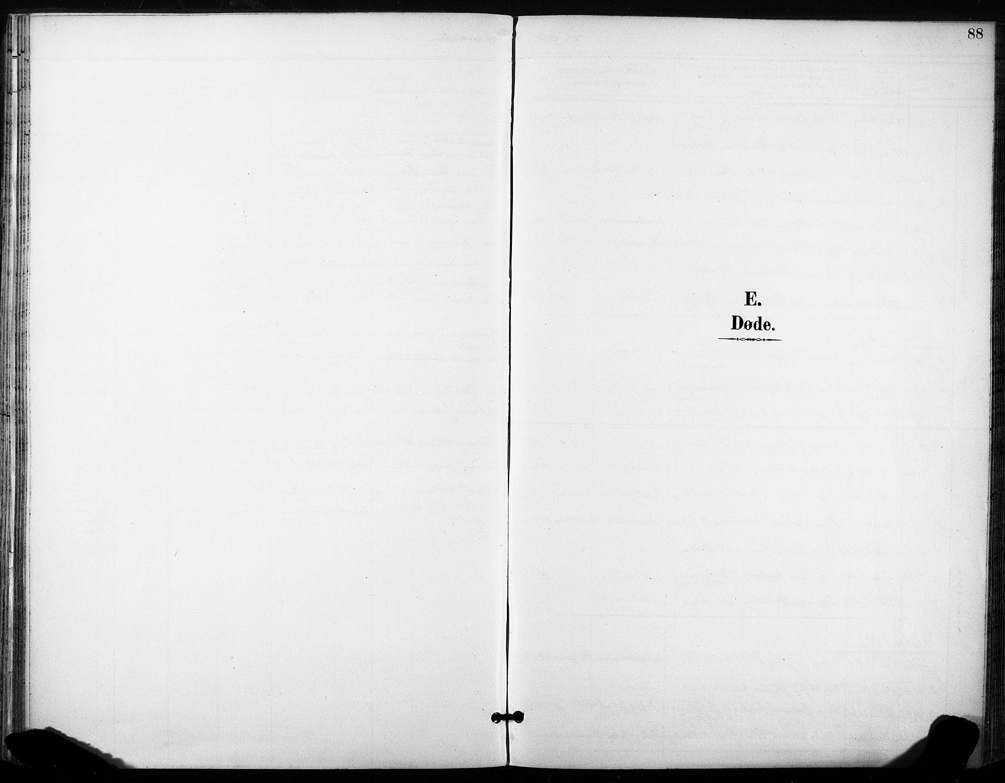 SAT, Ministerialprotokoller, klokkerbøker og fødselsregistre - Sør-Trøndelag, 685/L0973: Ministerialbok nr. 685A10, 1891-1907, s. 88