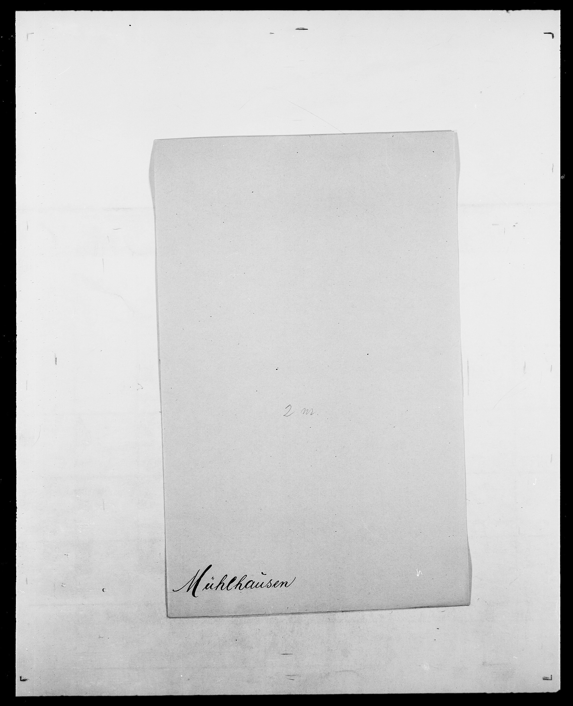 SAO, Delgobe, Charles Antoine - samling, D/Da/L0027: Morath - v. Møsting, s. 331