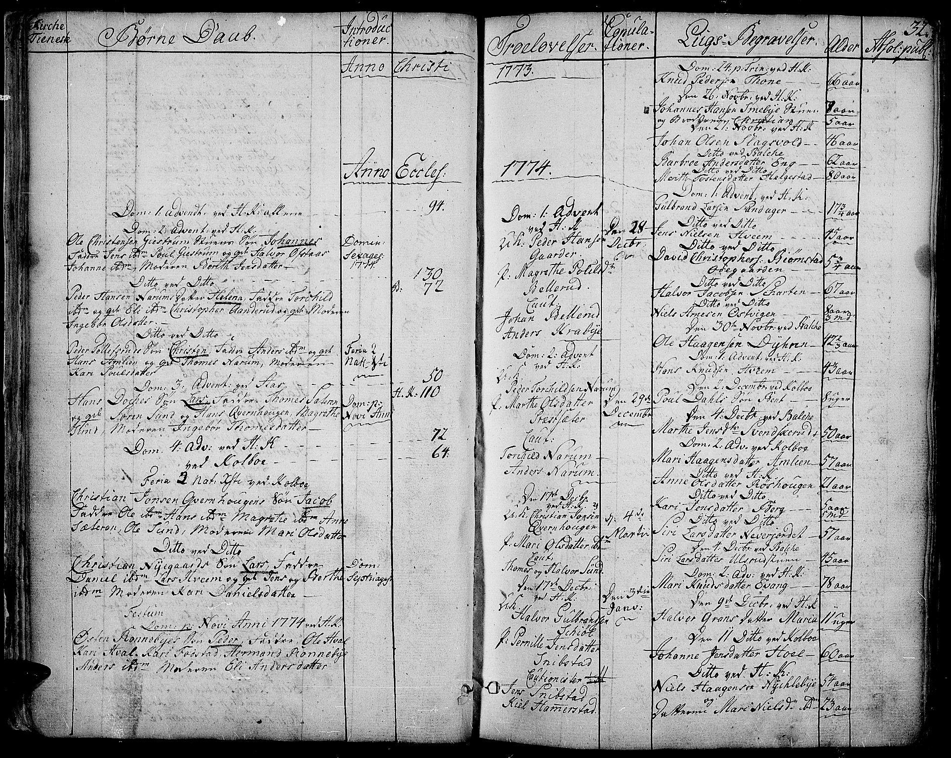 SAH, Toten prestekontor, Ministerialbok nr. 6, 1773-1793, s. 32