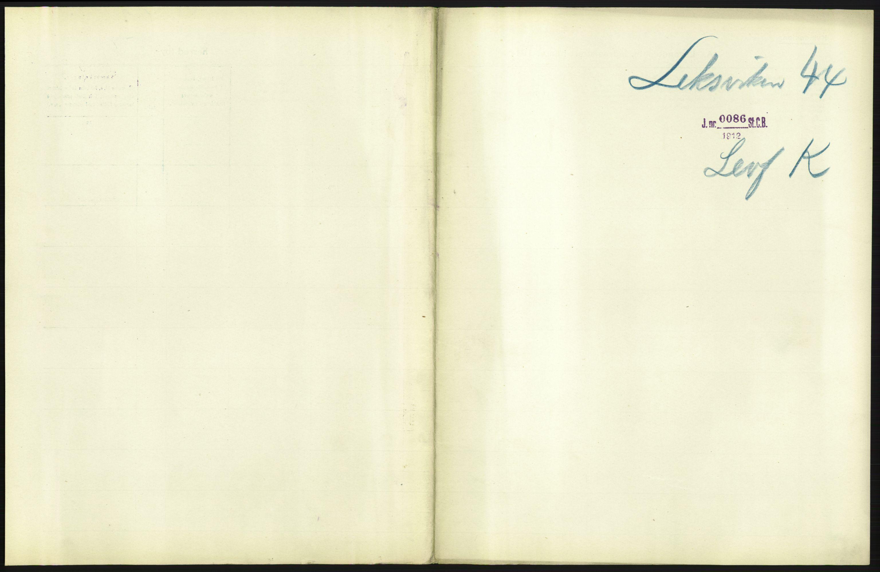 RA, Statistisk sentralbyrå, Sosiodemografiske emner, Befolkning, D/Df/Dfb/Dfba/L0042: N. Trondhjem amt:  Levendefødte menn og kvinner. Bygder og byer., 1911