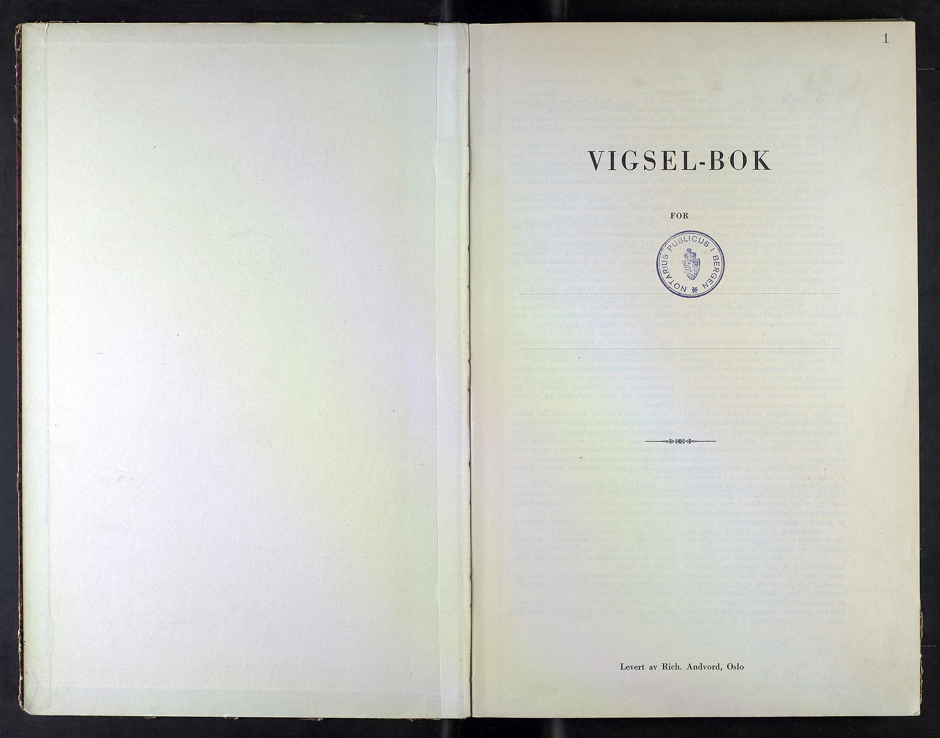 SAB, Bergen byfogd og byskriver*, 1941-1942, s. 1