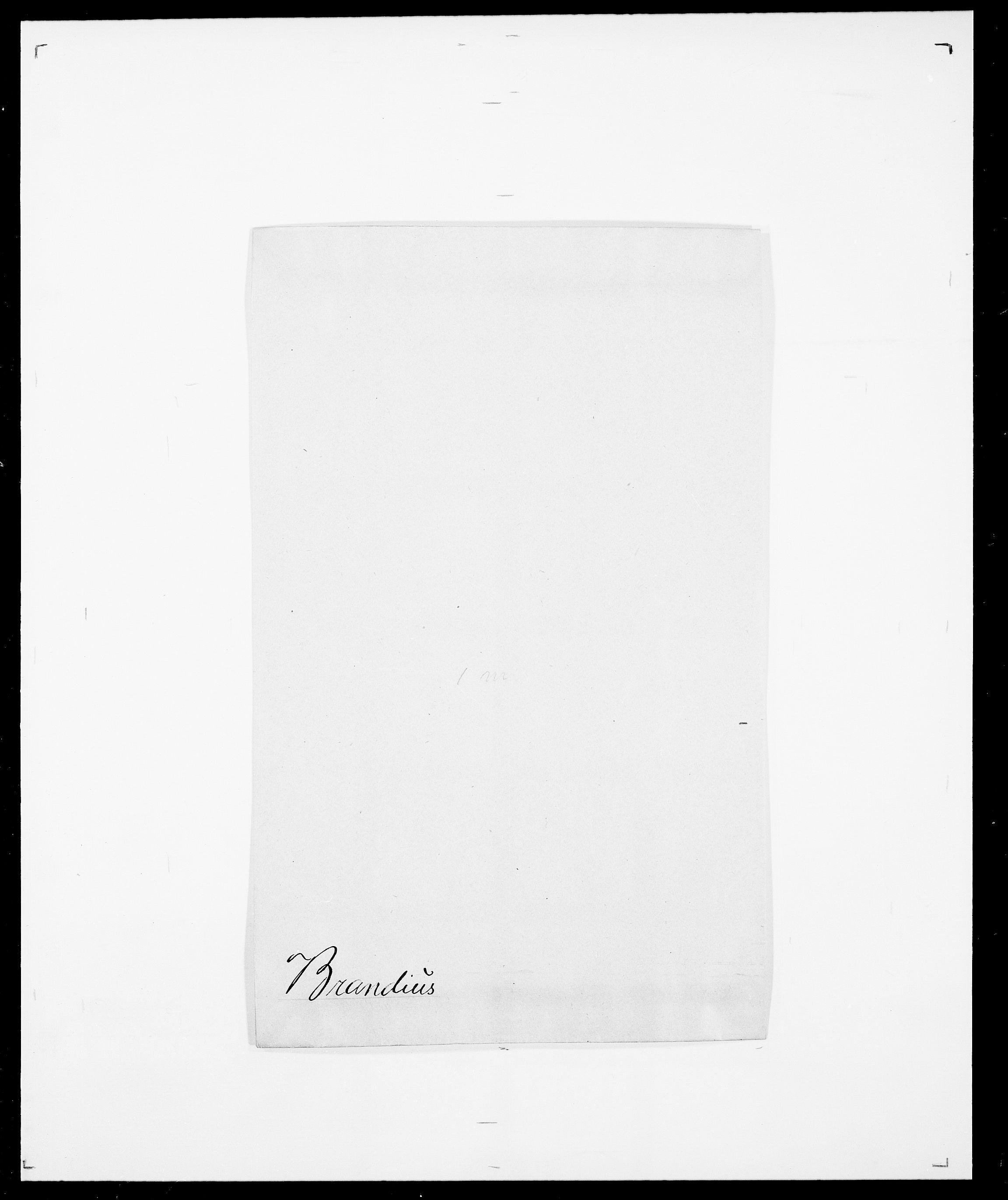 SAO, Delgobe, Charles Antoine - samling, D/Da/L0006: Brambani - Brønø, s. 22