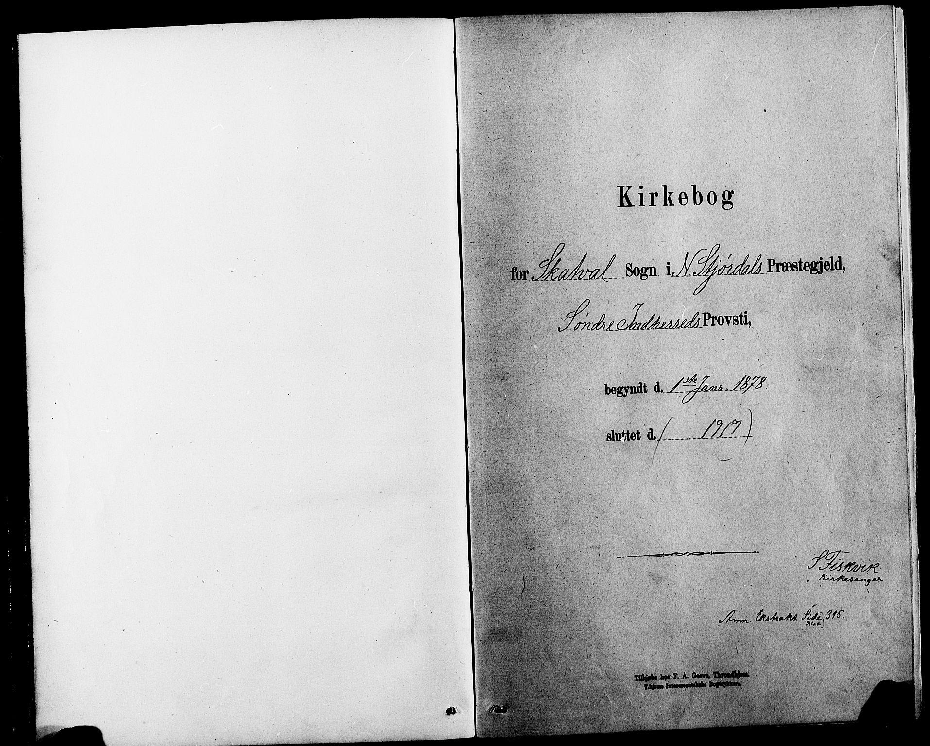 SAT, Ministerialprotokoller, klokkerbøker og fødselsregistre - Nord-Trøndelag, 712/L0103: Klokkerbok nr. 712C01, 1878-1917