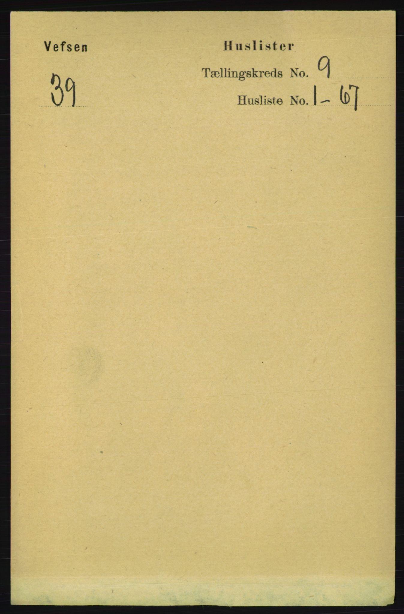 RA, Folketelling 1891 for 1824 Vefsn herred, 1891, s. 4626