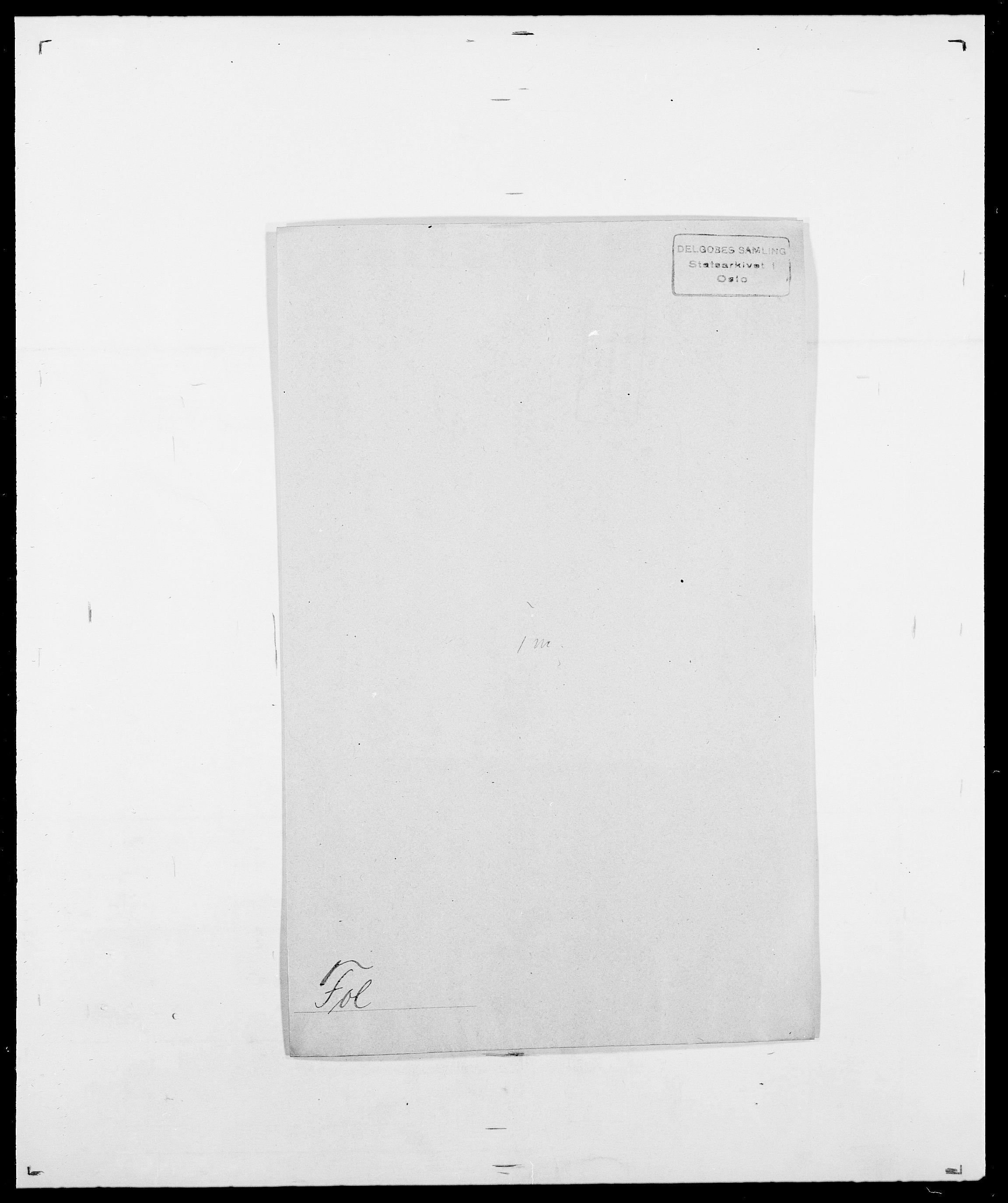 SAO, Delgobe, Charles Antoine - samling, D/Da/L0012: Flor, Floer, Flohr - Fritzner, s. 558