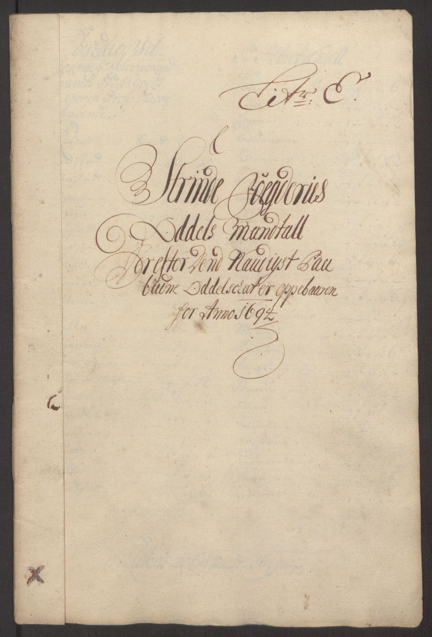 RA, Rentekammeret inntil 1814, Reviderte regnskaper, Fogderegnskap, R61/L4104: Fogderegnskap Strinda og Selbu, 1693-1694, s. 221