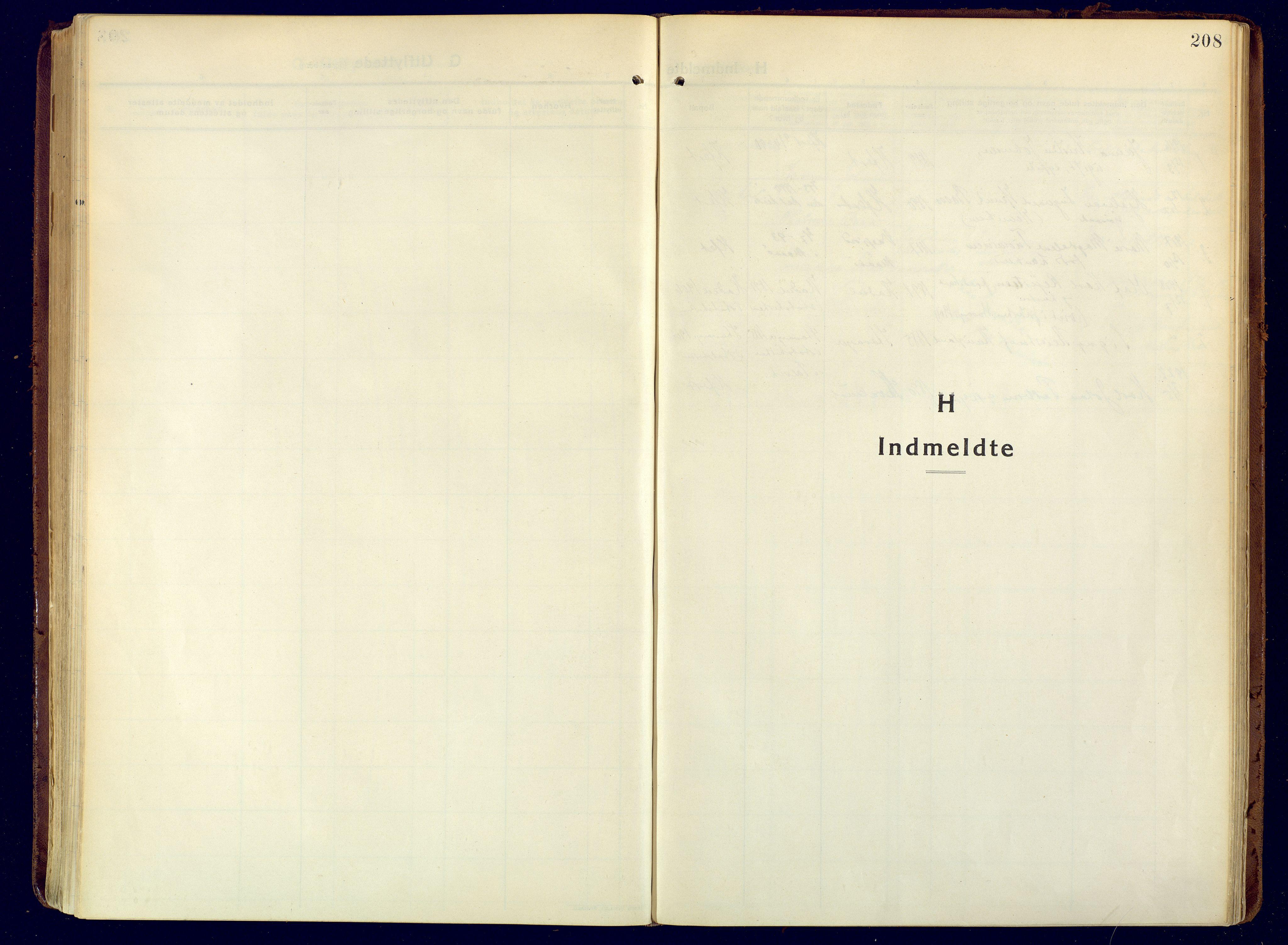 SATØ, Hammerfest sokneprestembete, Ministerialbok nr. 15, 1916-1923, s. 208