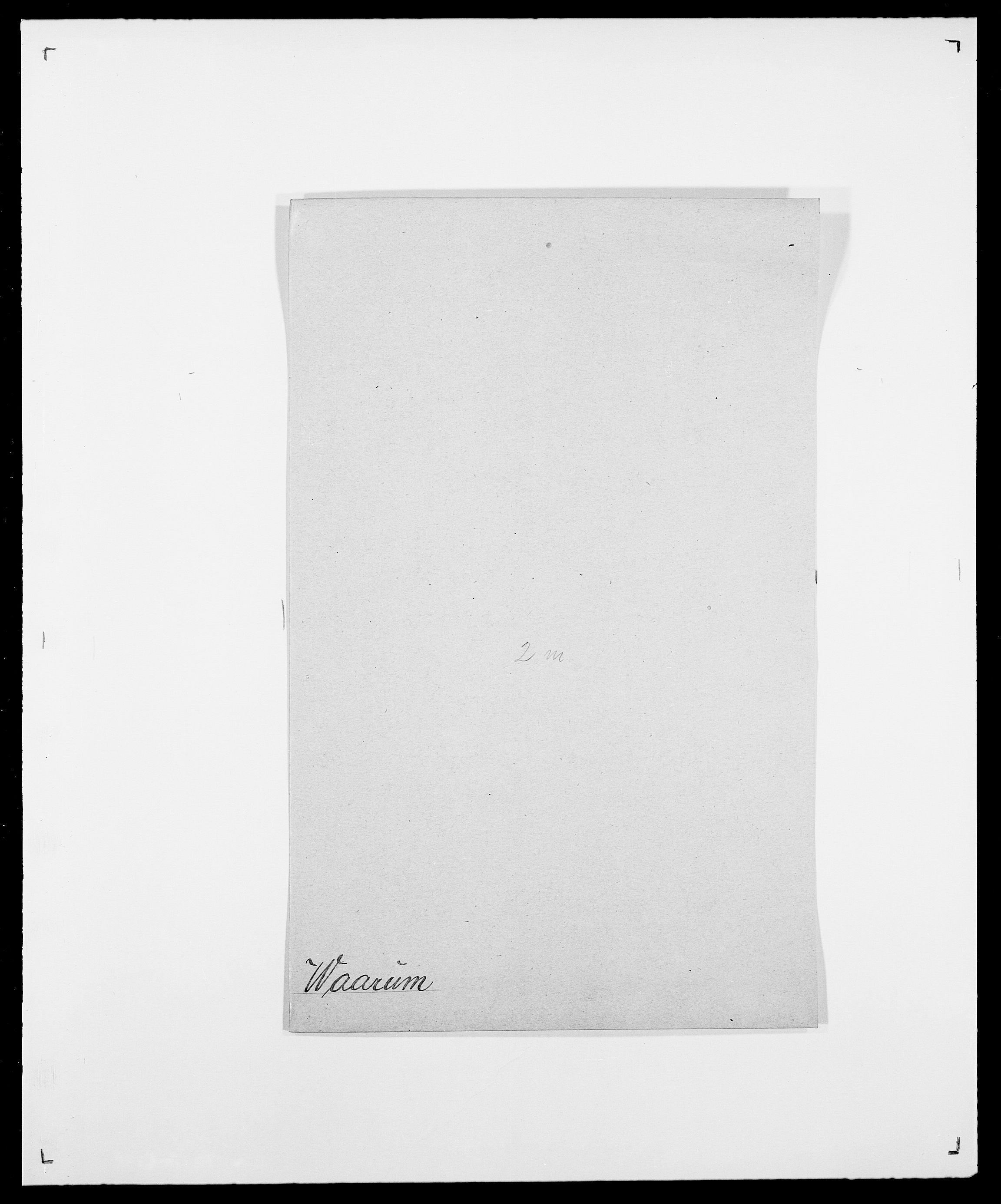 SAO, Delgobe, Charles Antoine - samling, D/Da/L0040: Usgaard - Velund, s. 63