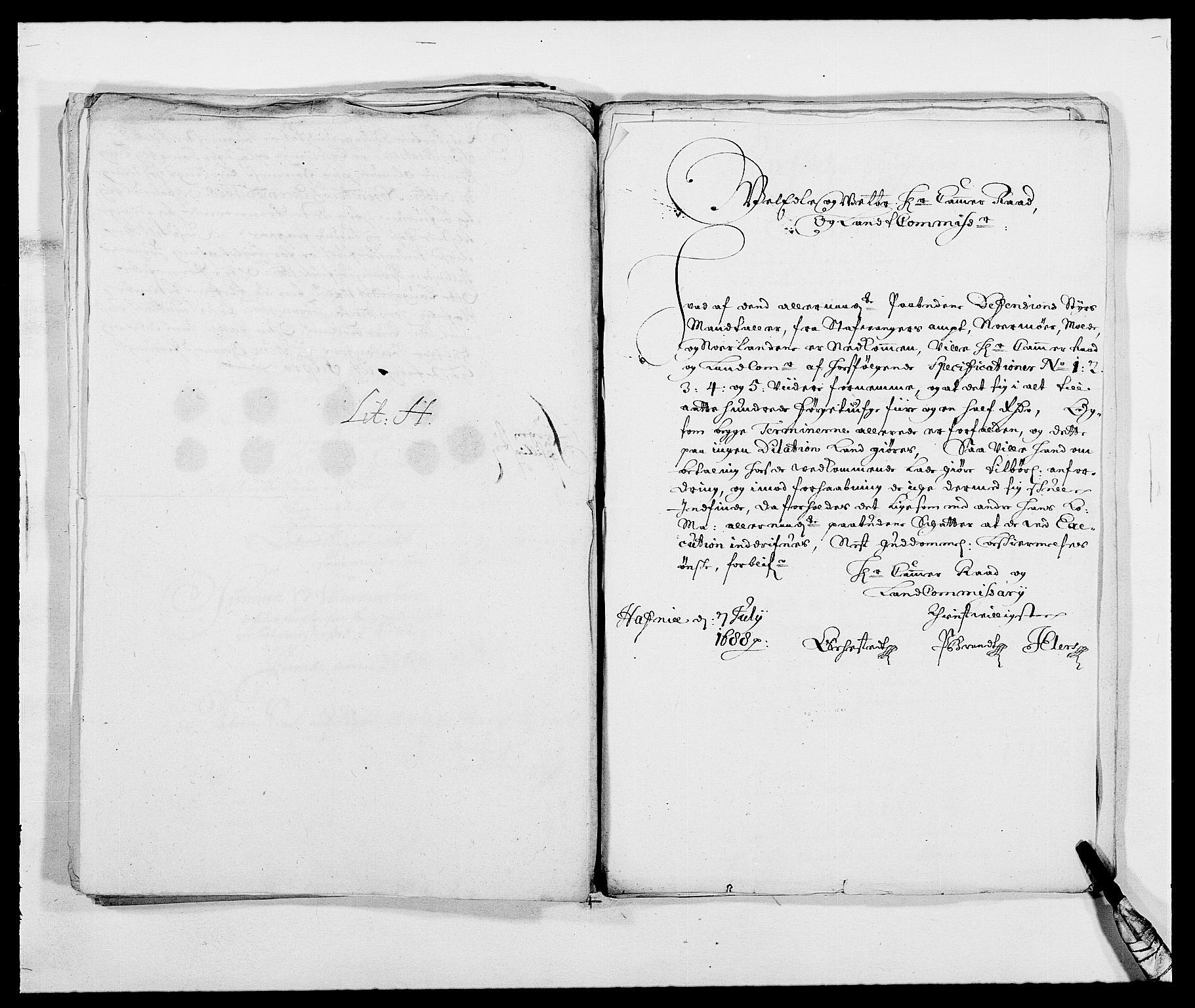 RA, Rentekammeret inntil 1814, Reviderte regnskaper, Fogderegnskap, R47/L2855: Fogderegnskap Ryfylke, 1685-1688, s. 389