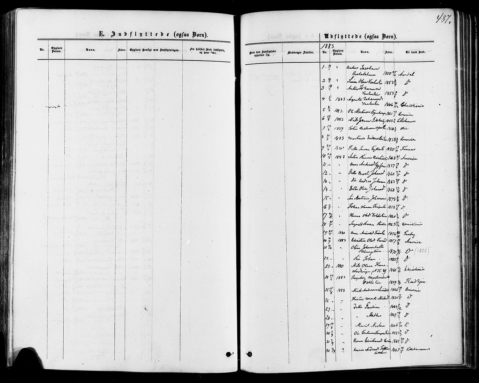 SAH, Østre Gausdal prestekontor, Ministerialbok nr. 1, 1874-1886, s. 487