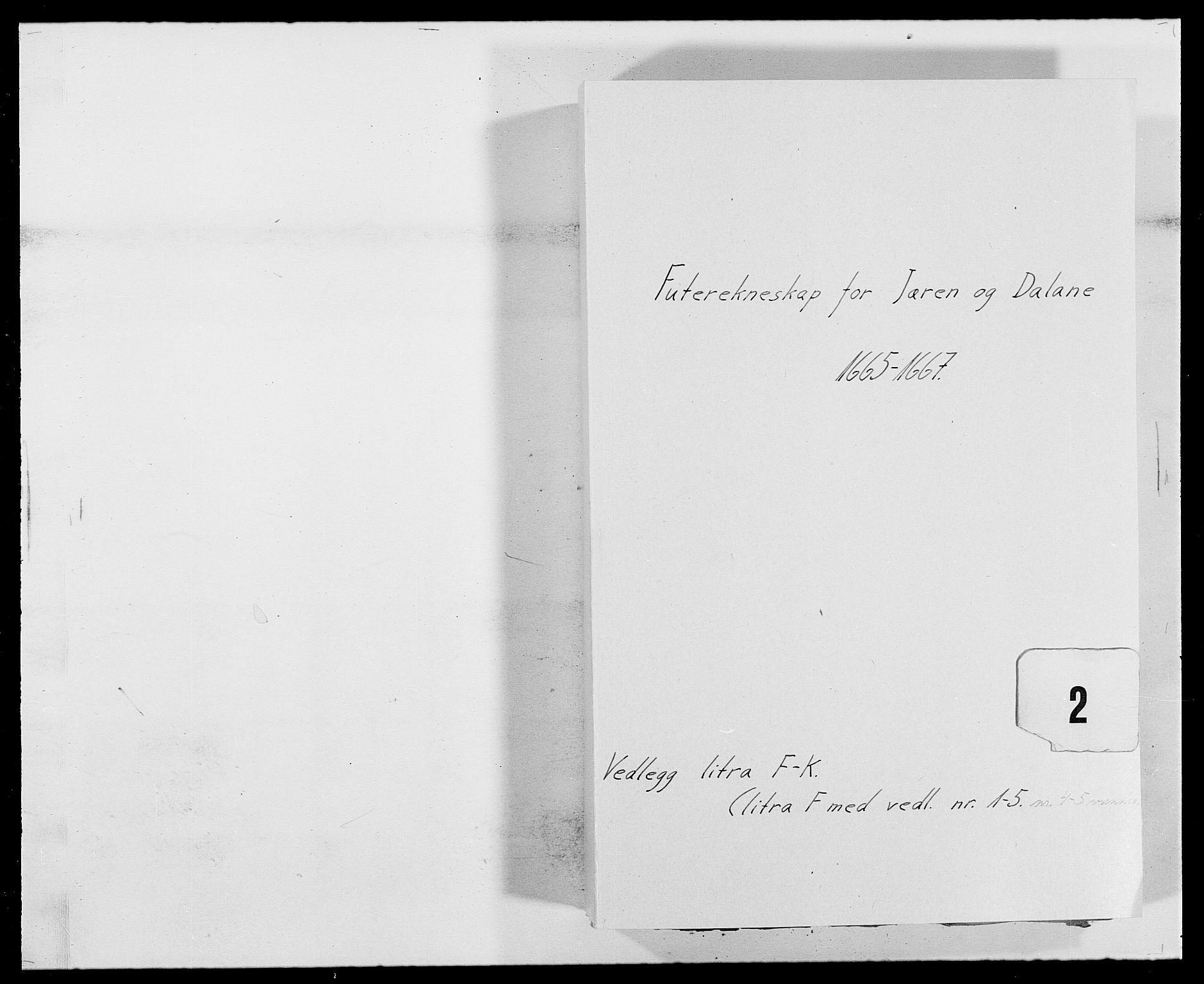 RA, Rentekammeret inntil 1814, Reviderte regnskaper, Fogderegnskap, R46/L2709: Fogderegnskap Jæren og Dalane, 1665-1667, s. 194
