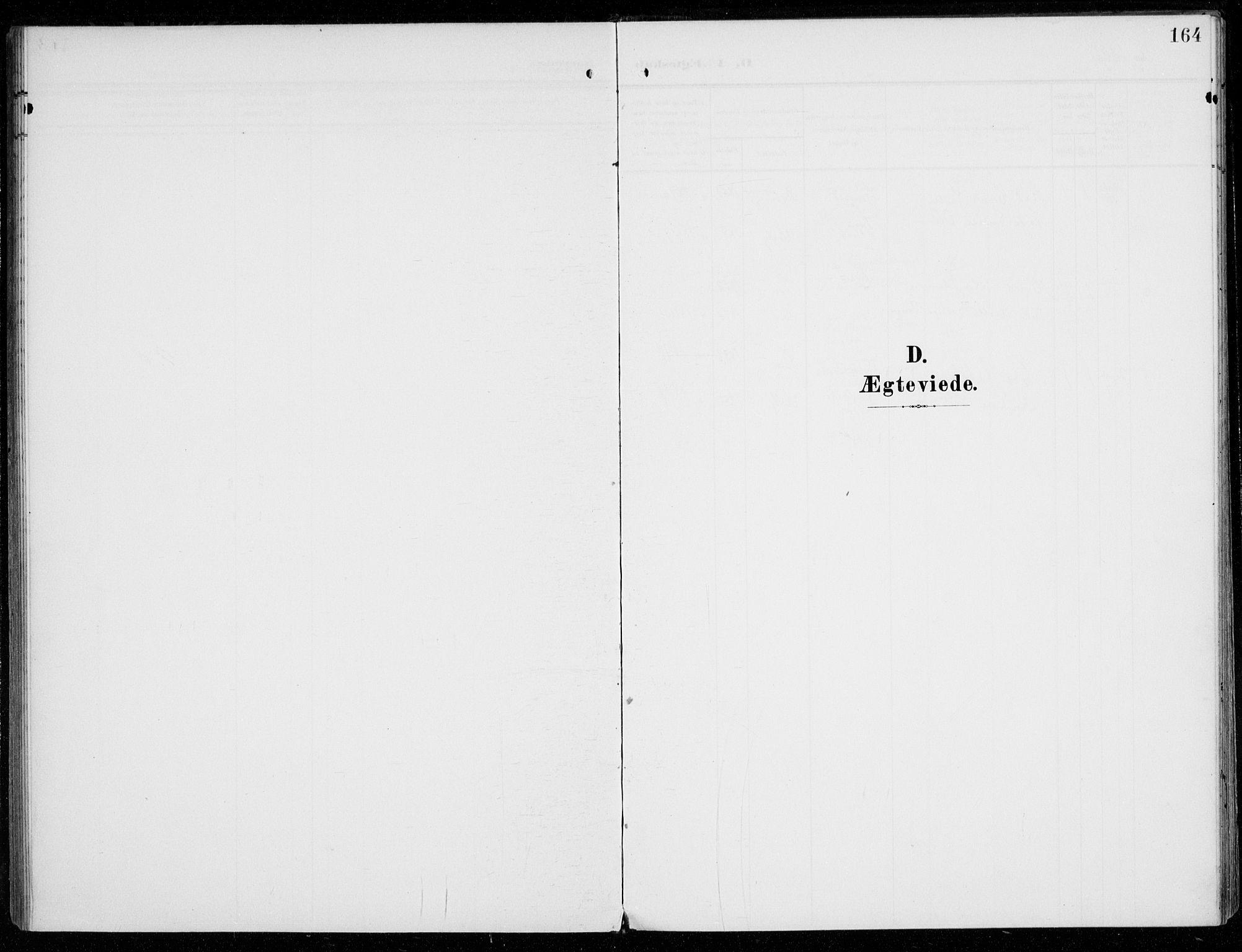 SAO, Vestby prestekontor Kirkebøker, F/Fc/L0002: Ministerialbok nr. III 2, 1906-1940, s. 164