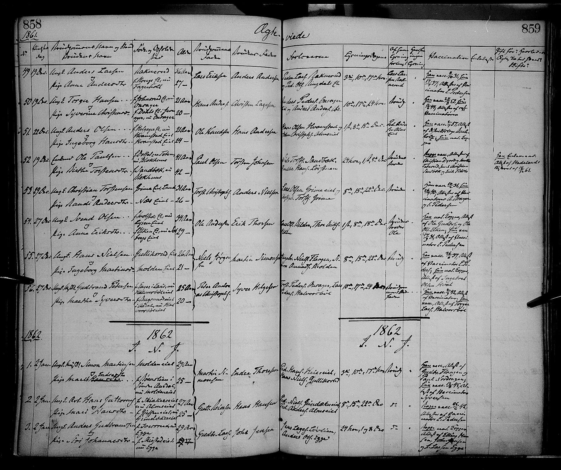 SAH, Gran prestekontor, Ministerialbok nr. 12, 1856-1874, s. 858-859