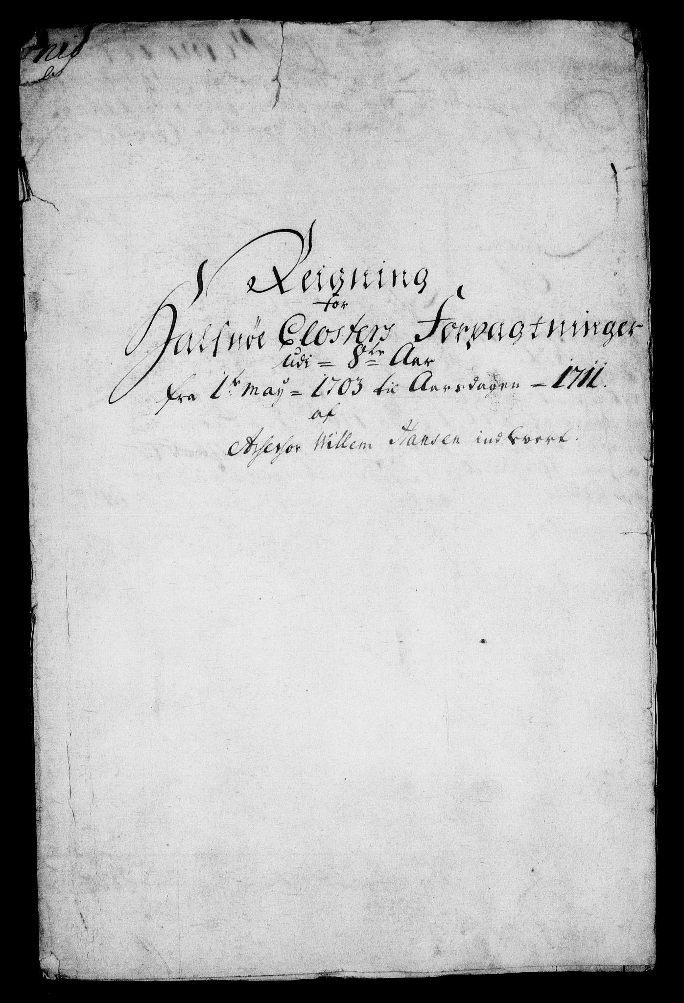 RA, Rentekammeret inntil 1814, Realistisk ordnet avdeling, On/L0005: [Jj 6]: Forskjellige dokumenter om Halsnøy klosters gods, 1697-1770, s. 13