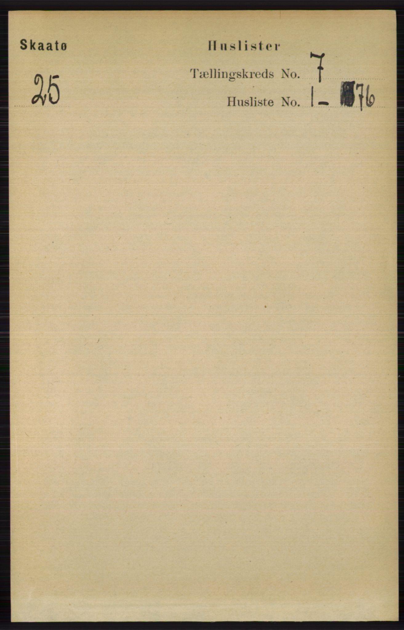 RA, Folketelling 1891 for 0815 Skåtøy herred, 1891, s. 2997