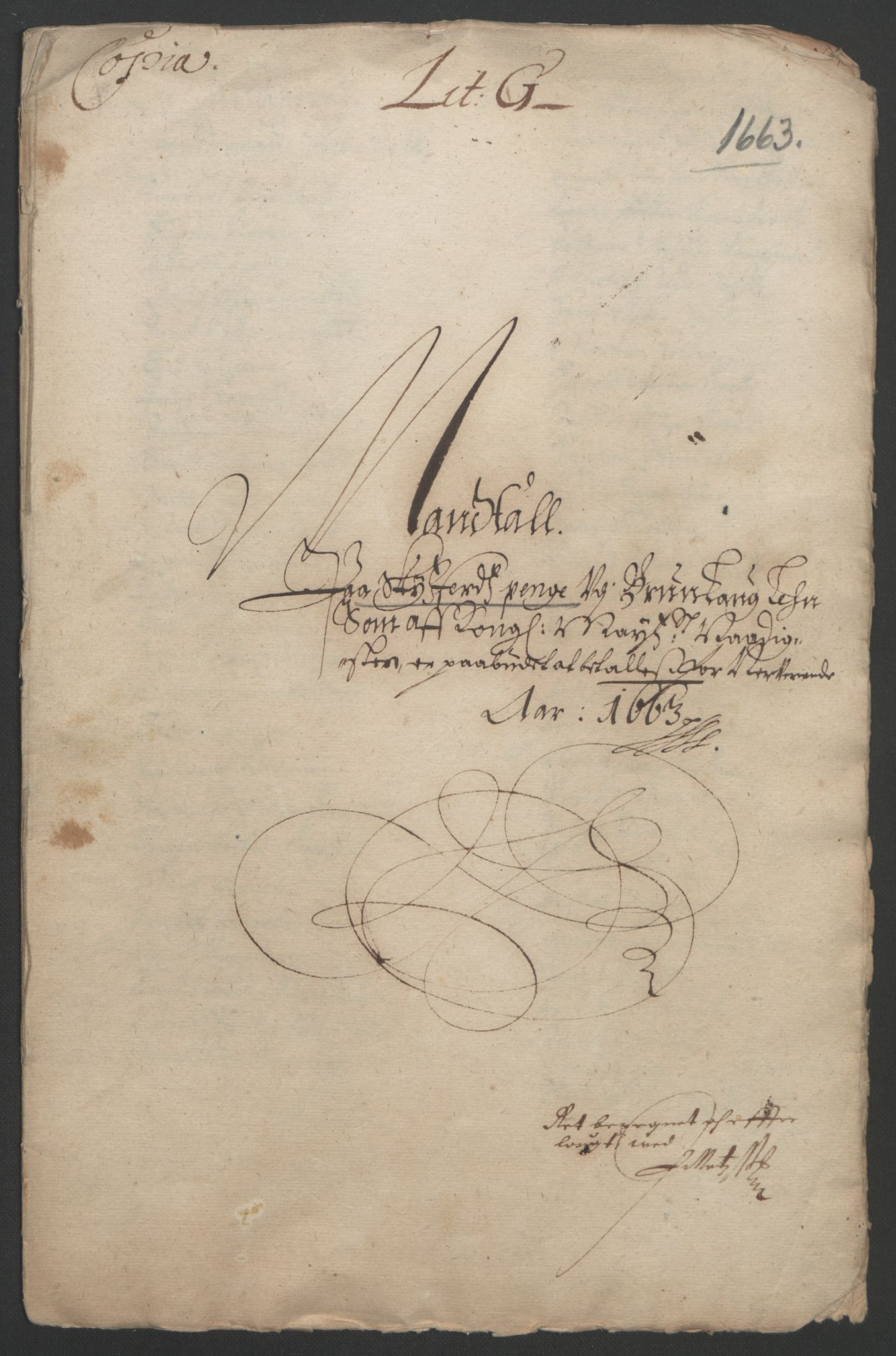 RA, Rentekammeret inntil 1814, Reviderte regnskaper, Fogderegnskap, R33/L1963: Fogderegnskap Larvik grevskap, 1662-1664, s. 166