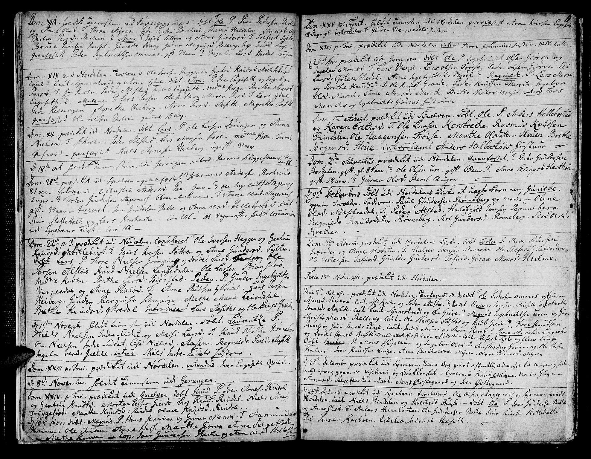 SAT, Ministerialprotokoller, klokkerbøker og fødselsregistre - Møre og Romsdal, 519/L0245: Ministerialbok nr. 519A04, 1774-1816, s. 11
