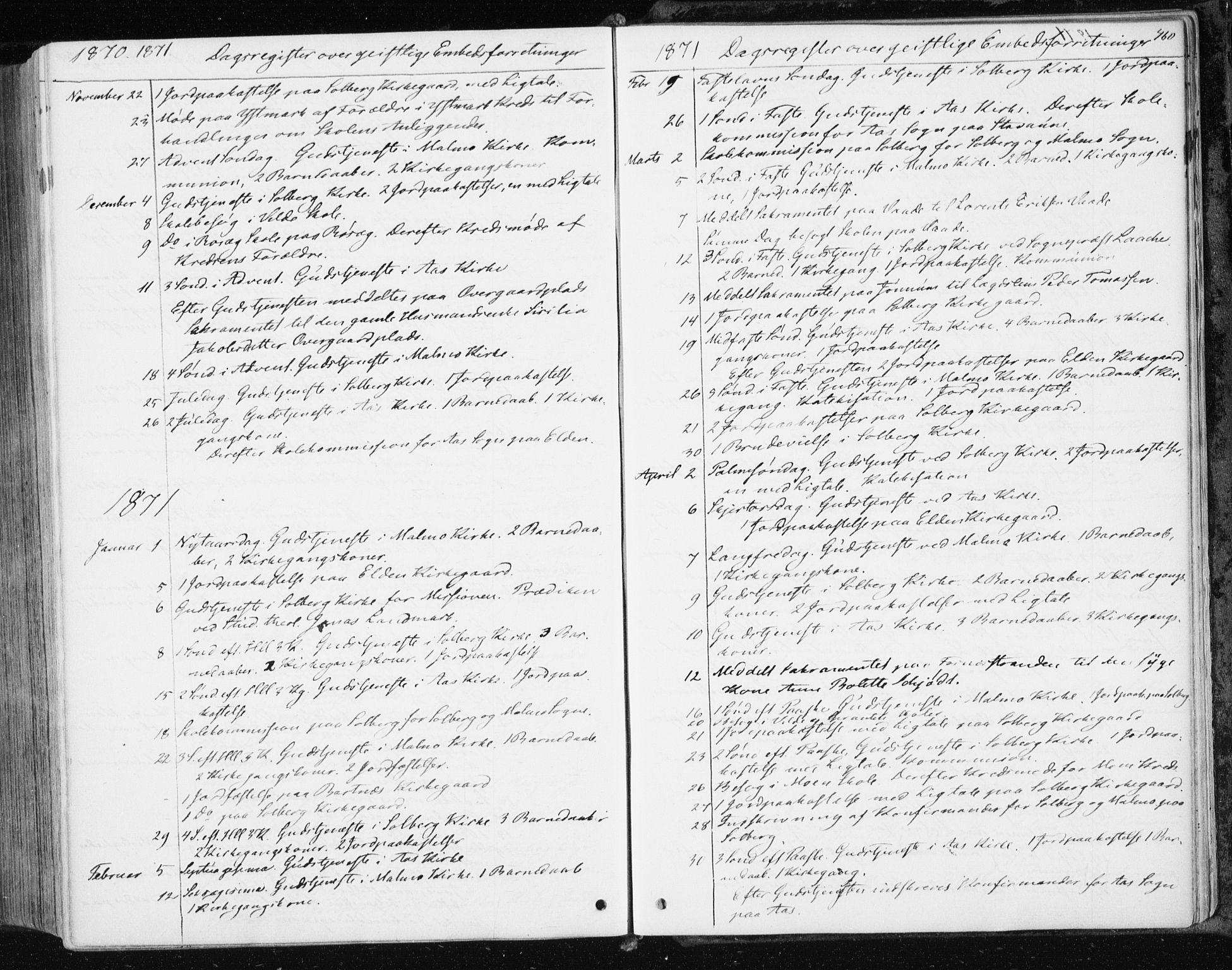 SAT, Ministerialprotokoller, klokkerbøker og fødselsregistre - Nord-Trøndelag, 741/L0394: Ministerialbok nr. 741A08, 1864-1877, s. 460