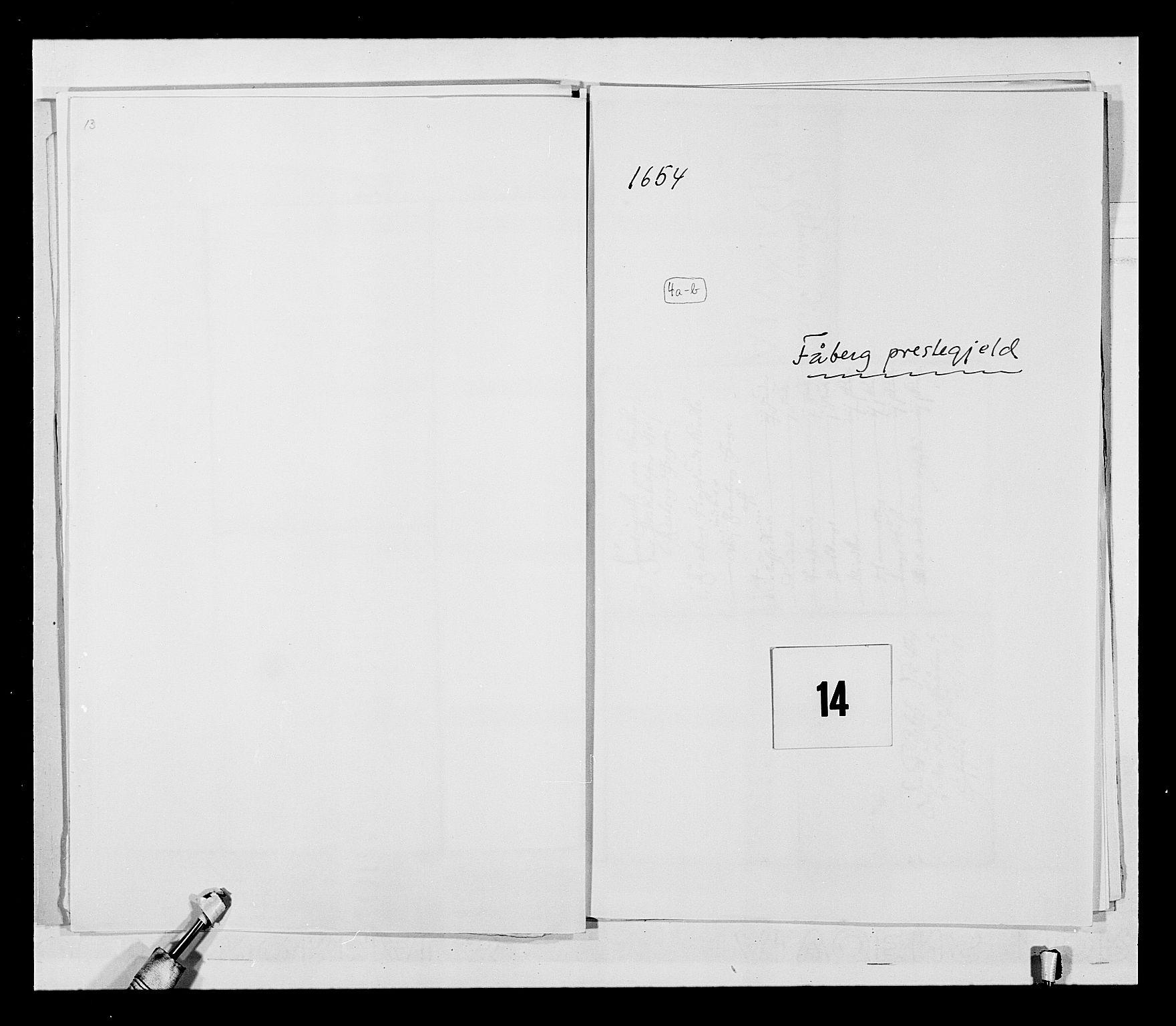 RA, Stattholderembetet 1572-1771, Ek/L0030: Jordebøker 1633-1658:, 1654, s. 61