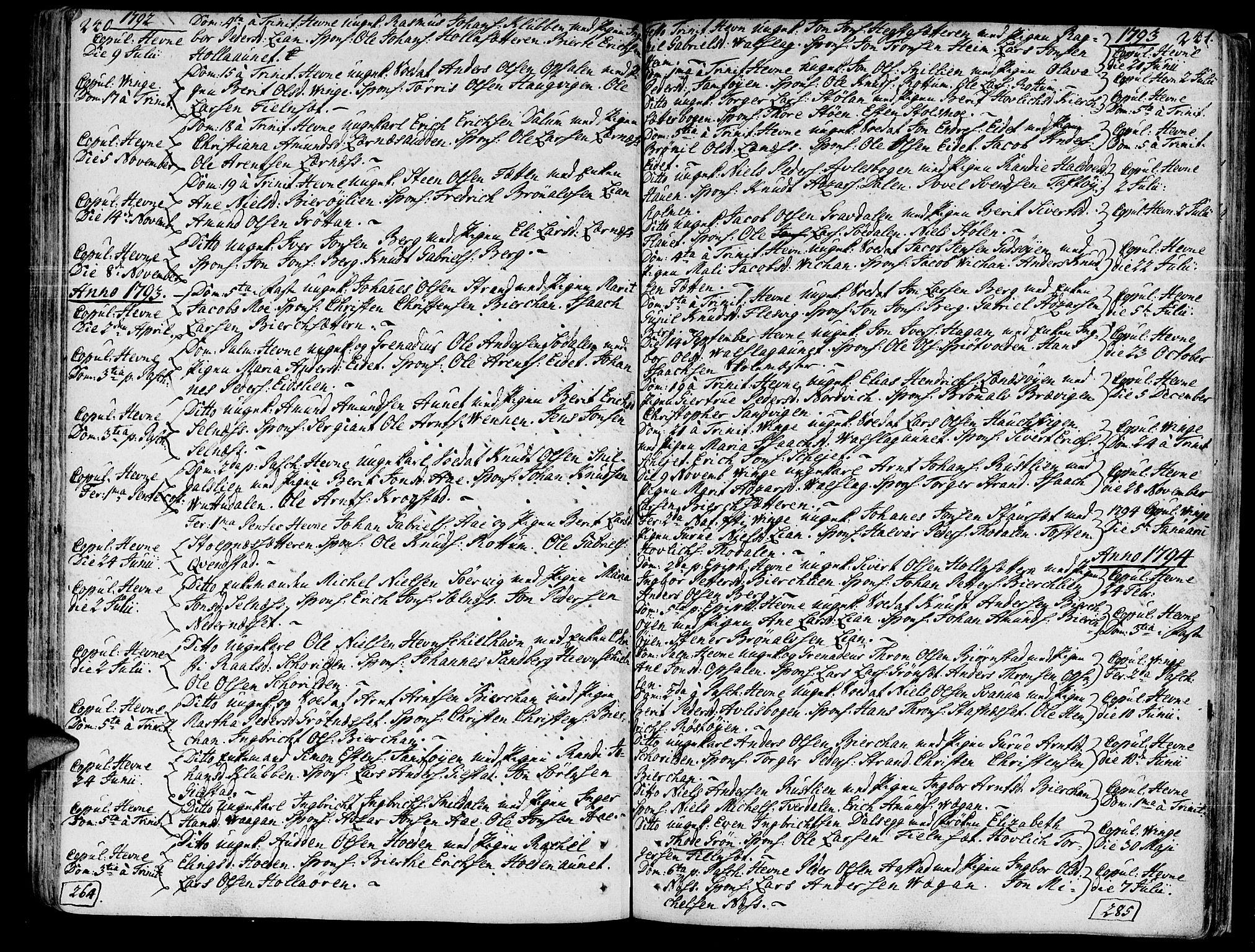 SAT, Ministerialprotokoller, klokkerbøker og fødselsregistre - Sør-Trøndelag, 630/L0489: Ministerialbok nr. 630A02, 1757-1794, s. 240-241