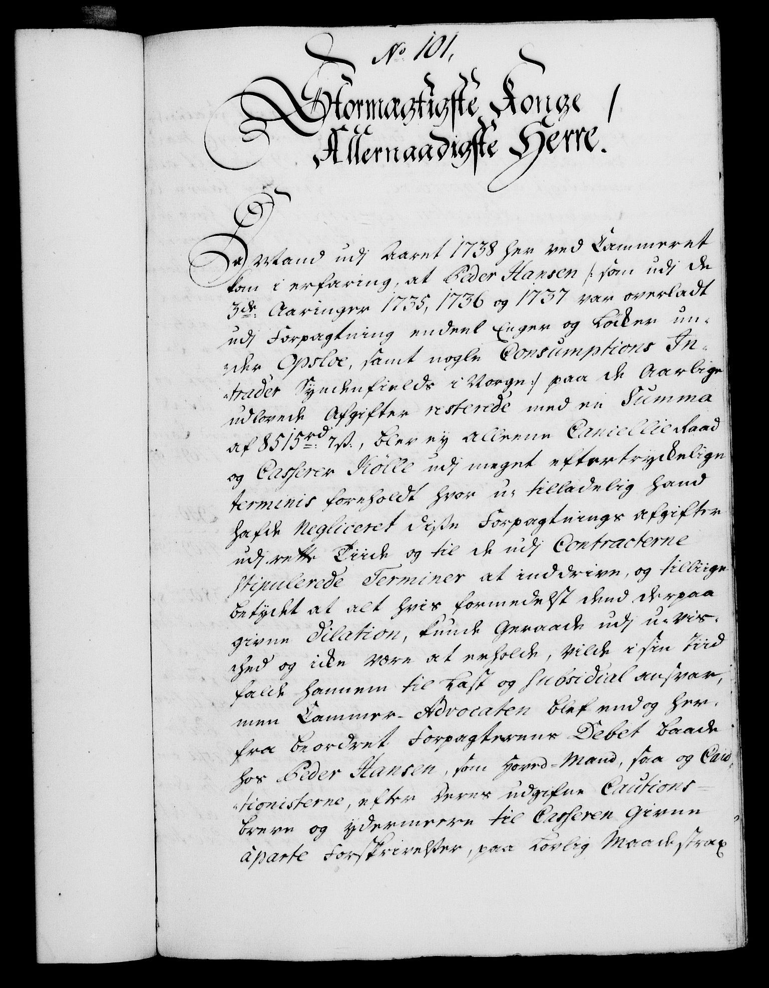 RA, Rentekammeret, Kammerkanselliet, G/Gf/Gfa/L0023: Norsk relasjons- og resolusjonsprotokoll (merket RK 52.23), 1740, s. 676