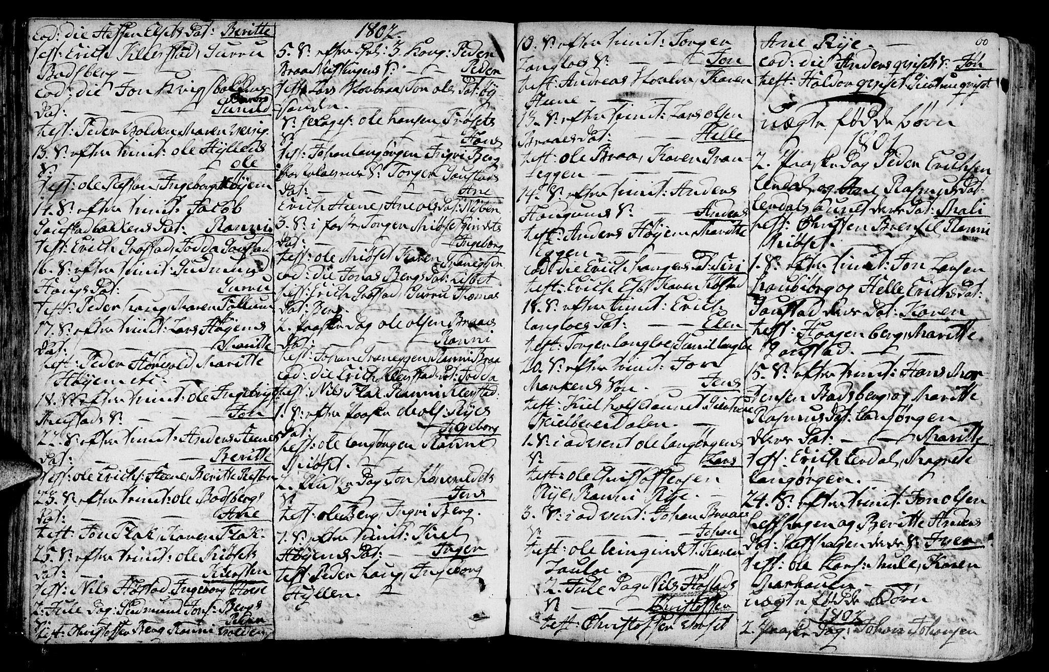 SAT, Ministerialprotokoller, klokkerbøker og fødselsregistre - Sør-Trøndelag, 612/L0370: Ministerialbok nr. 612A04, 1754-1802, s. 60