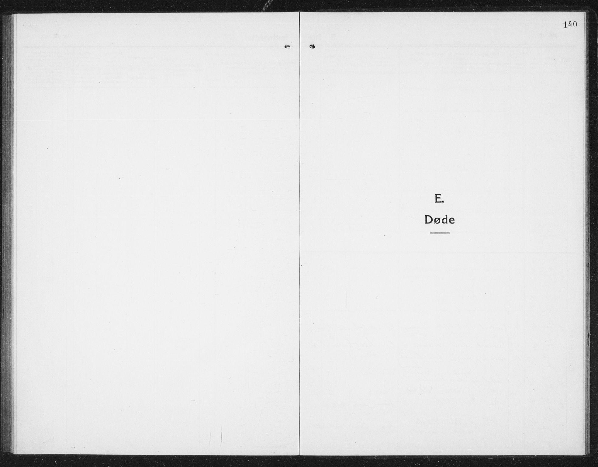 SAT, Ministerialprotokoller, klokkerbøker og fødselsregistre - Sør-Trøndelag, 675/L0888: Klokkerbok nr. 675C01, 1913-1935, s. 140