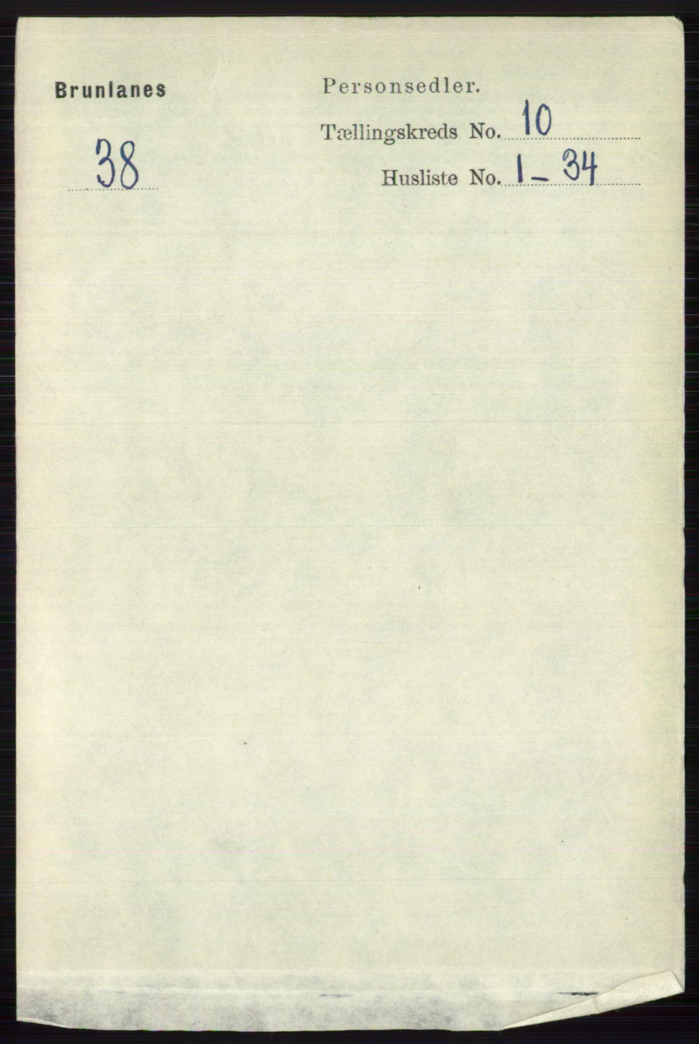 RA, Folketelling 1891 for 0726 Brunlanes herred, 1891, s. 4792