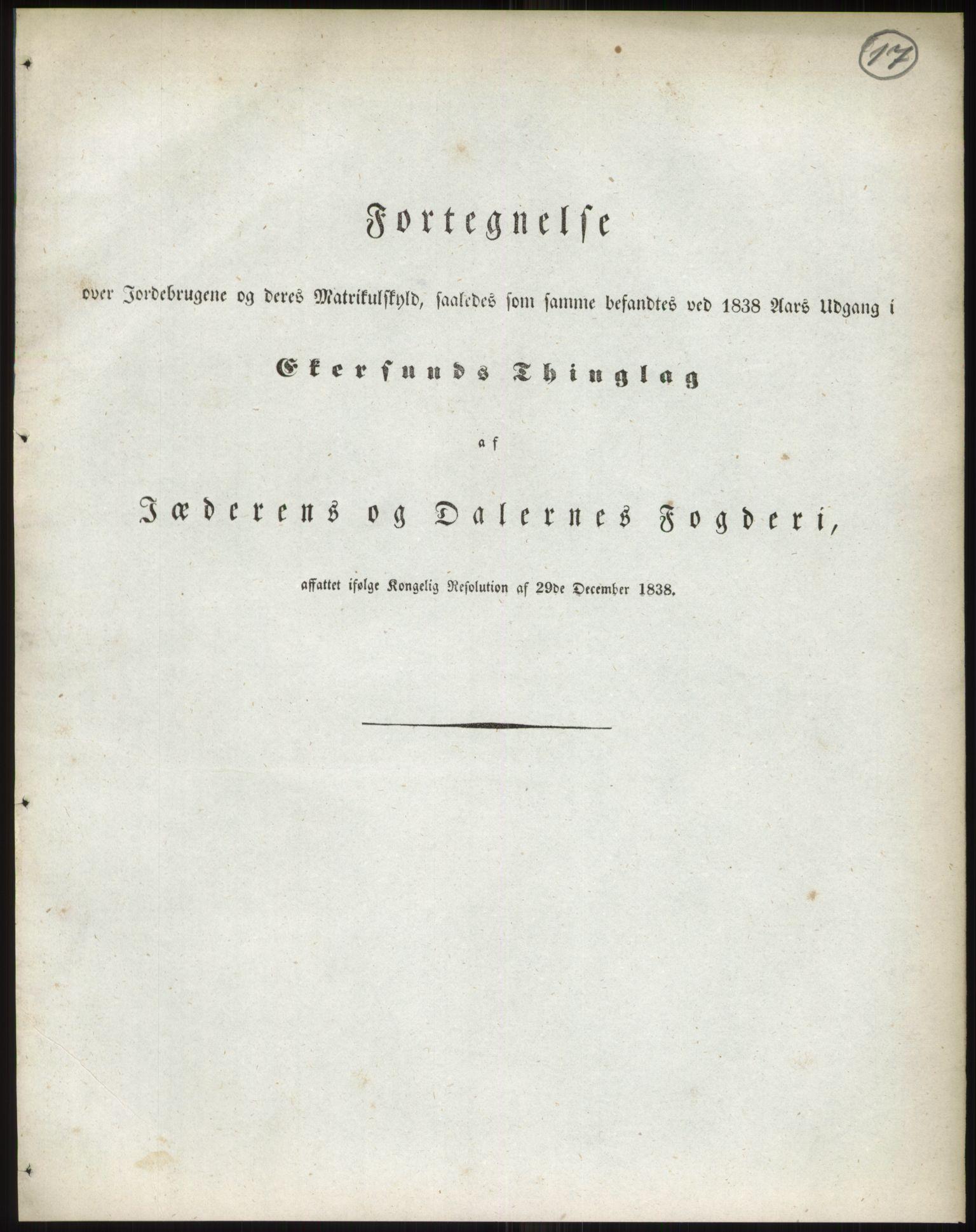 RA, 1838-matrikkelen (publikasjon)*, 1838, s. 17
