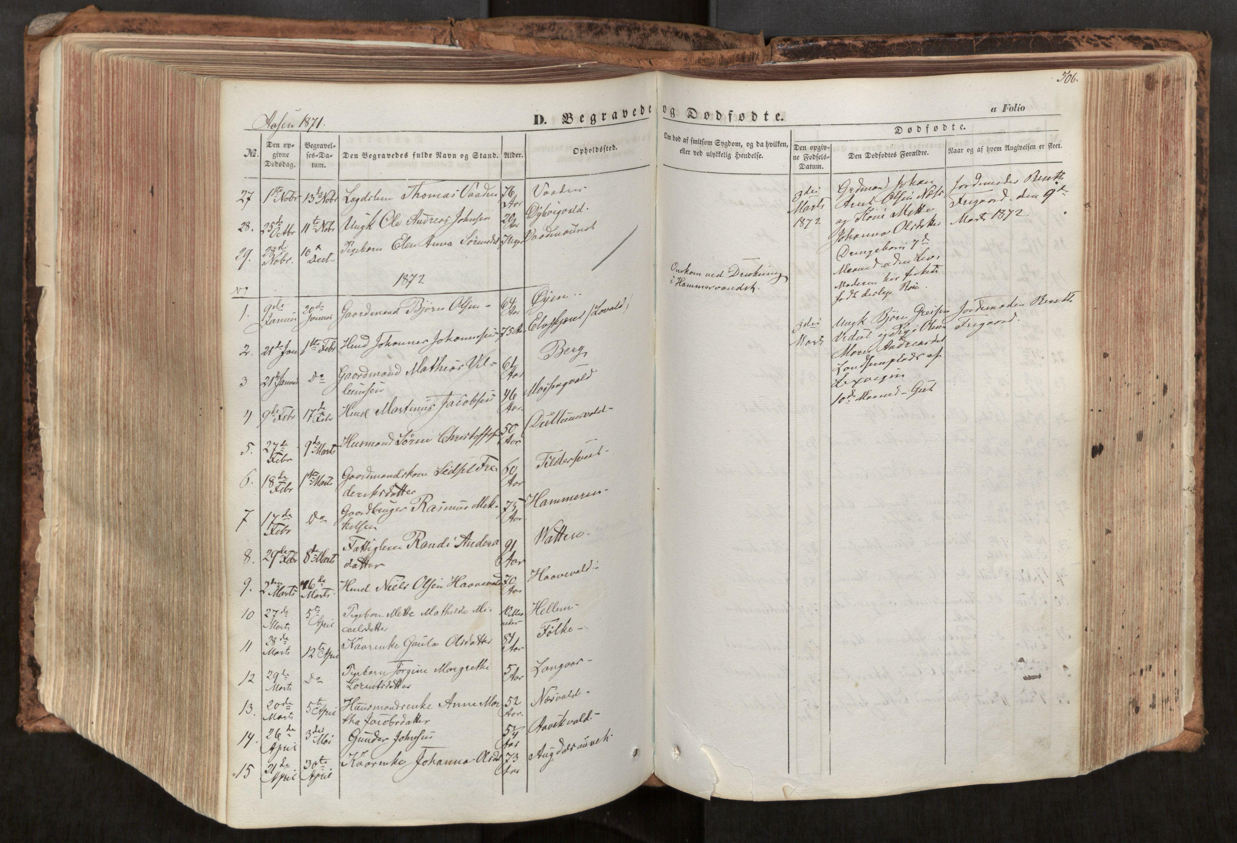 SAT, Ministerialprotokoller, klokkerbøker og fødselsregistre - Nord-Trøndelag, 713/L0116: Ministerialbok nr. 713A07, 1850-1877, s. 506