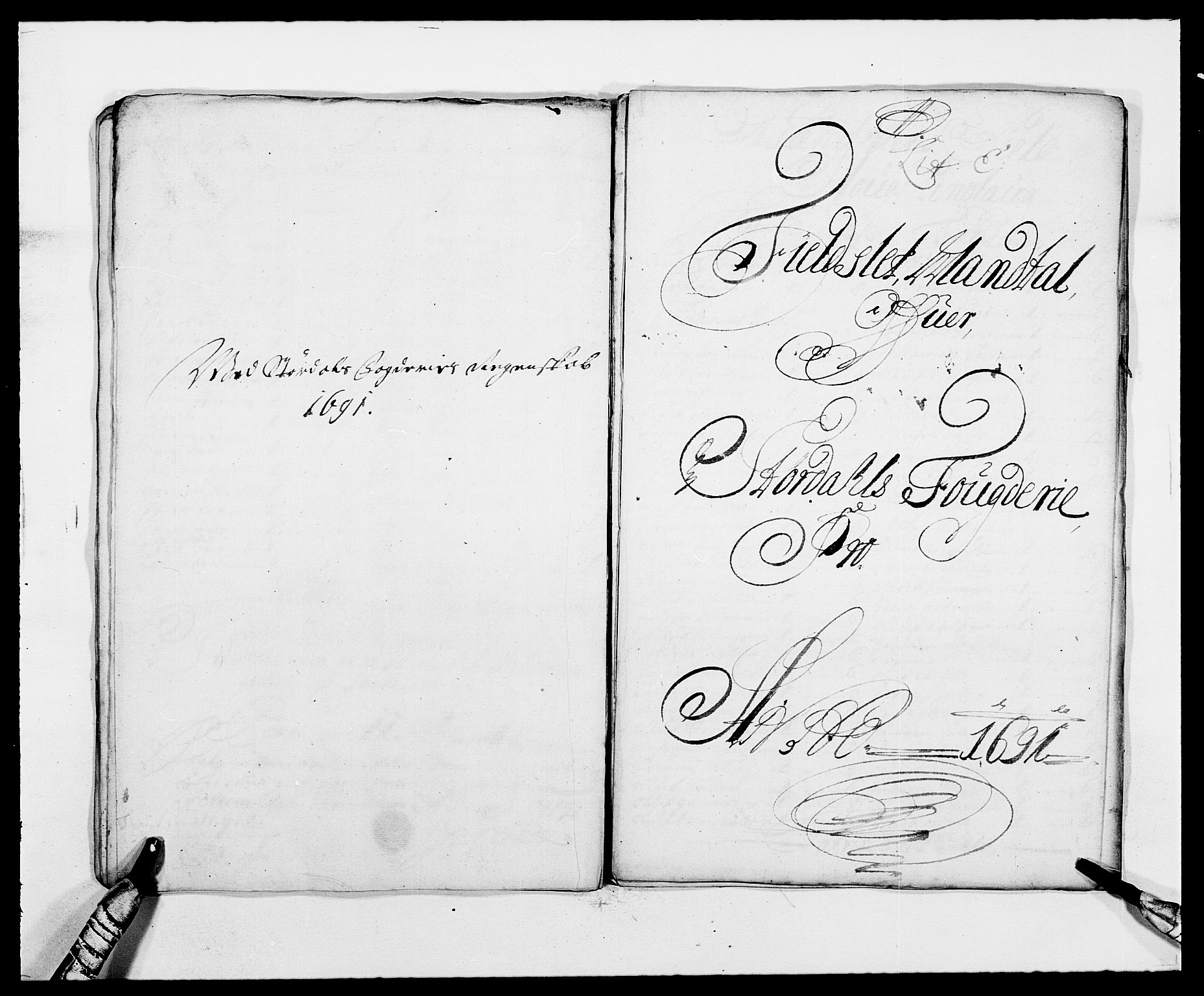 RA, Rentekammeret inntil 1814, Reviderte regnskaper, Fogderegnskap, R62/L4184: Fogderegnskap Stjørdal og Verdal, 1690-1691, s. 318