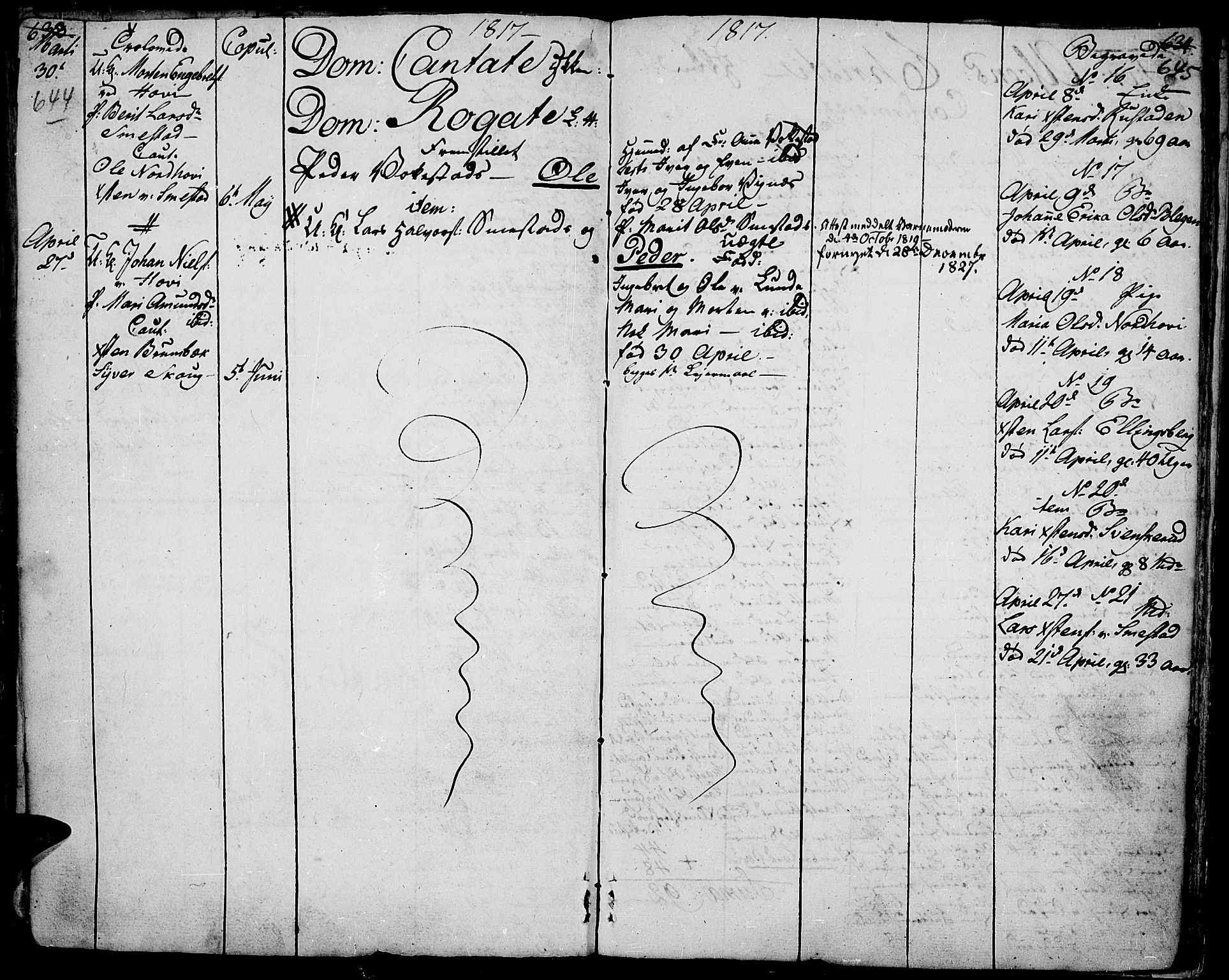 SAH, Fåberg prestekontor, H/Ha/Haa/L0002: Ministerialbok nr. 2, 1775-1818, s. 644-645