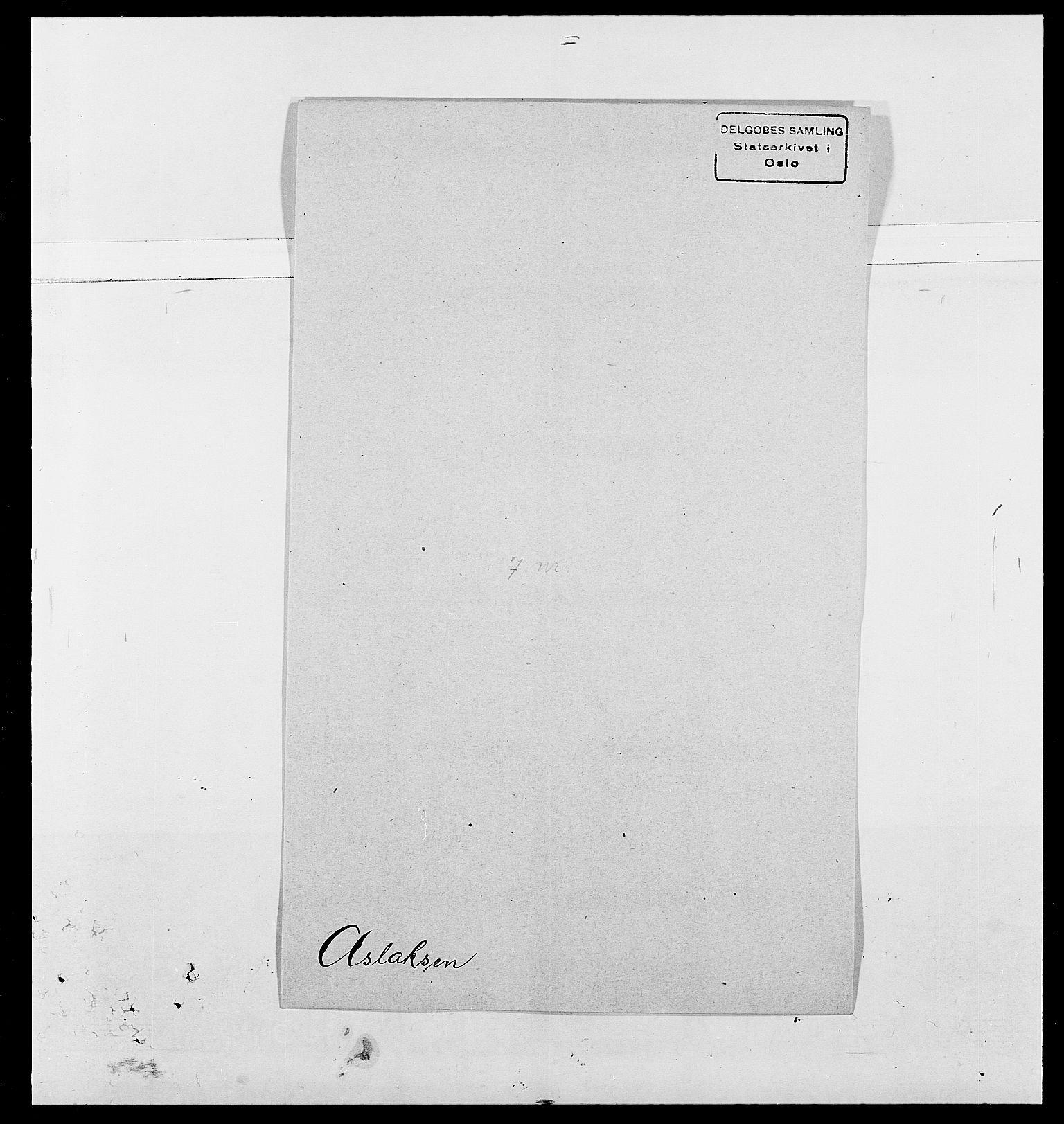 SAO, Delgobe, Charles Antoine - samling, D/Da/L0002: Anker, Ancher - Bauner, s. 440