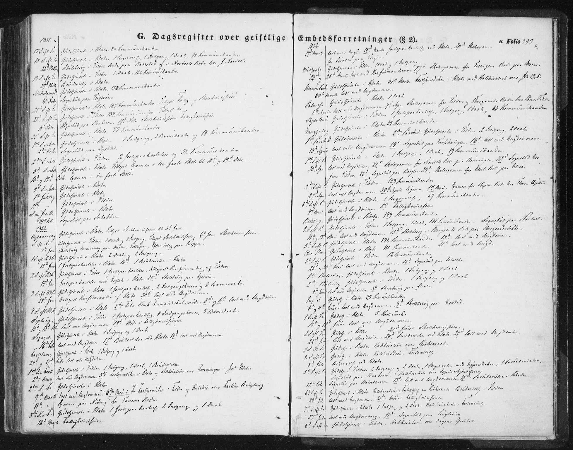 SAT, Ministerialprotokoller, klokkerbøker og fødselsregistre - Sør-Trøndelag, 618/L0441: Ministerialbok nr. 618A05, 1843-1862, s. 393