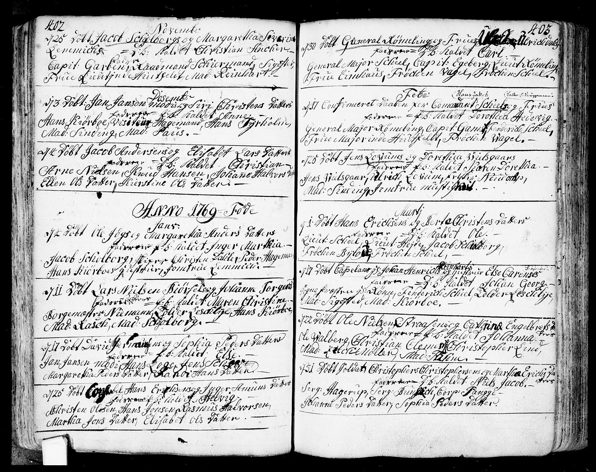 SAO, Fredrikstad prestekontor Kirkebøker, F/Fa/L0002: Ministerialbok nr. 2, 1750-1804, s. 402-403