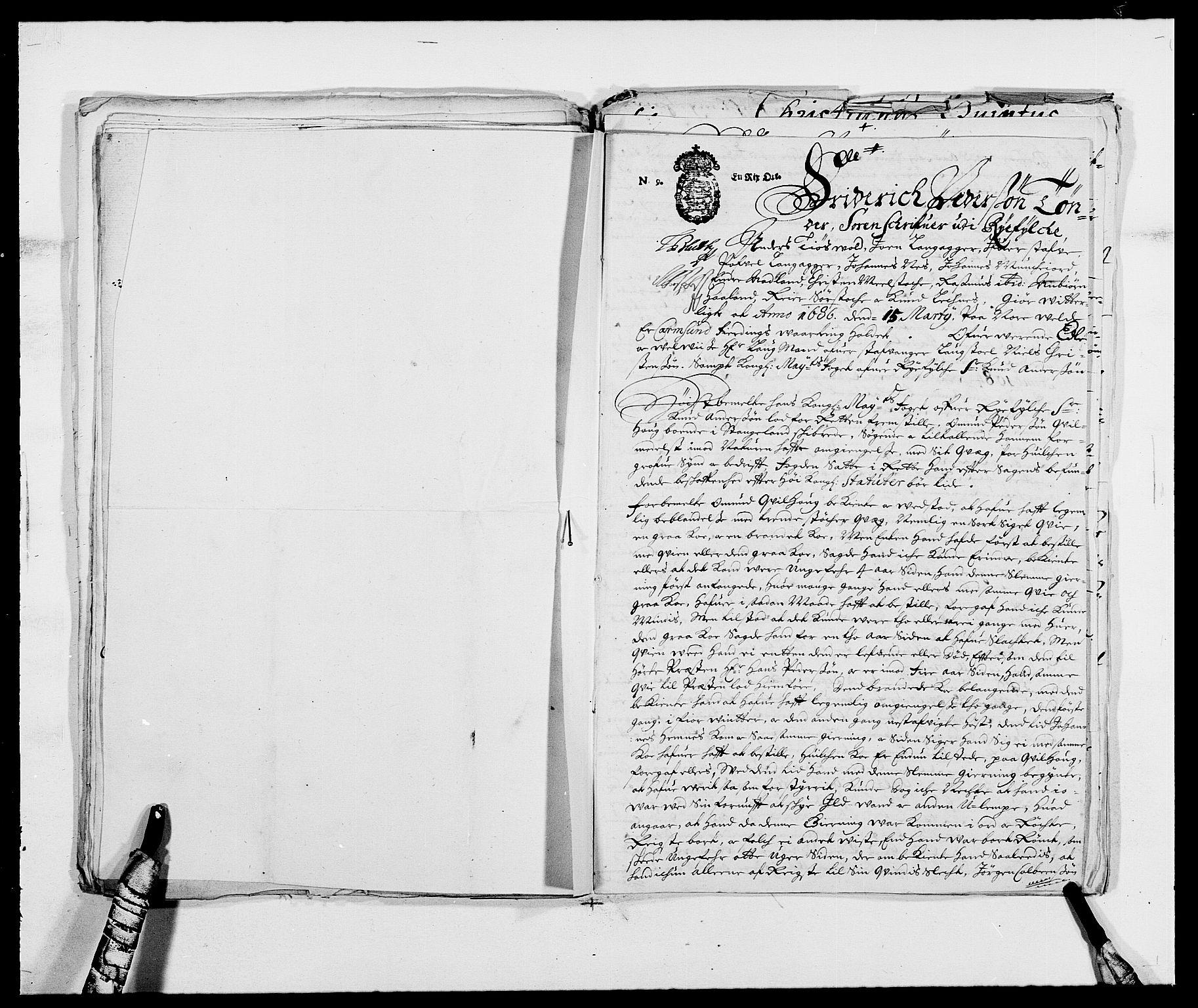 RA, Rentekammeret inntil 1814, Reviderte regnskaper, Fogderegnskap, R47/L2855: Fogderegnskap Ryfylke, 1685-1688, s. 211
